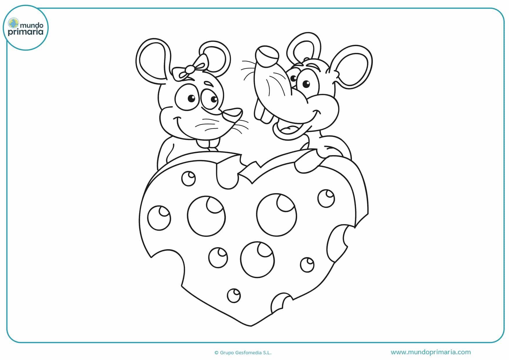 dibujos de corazones para colorear e imprimir
