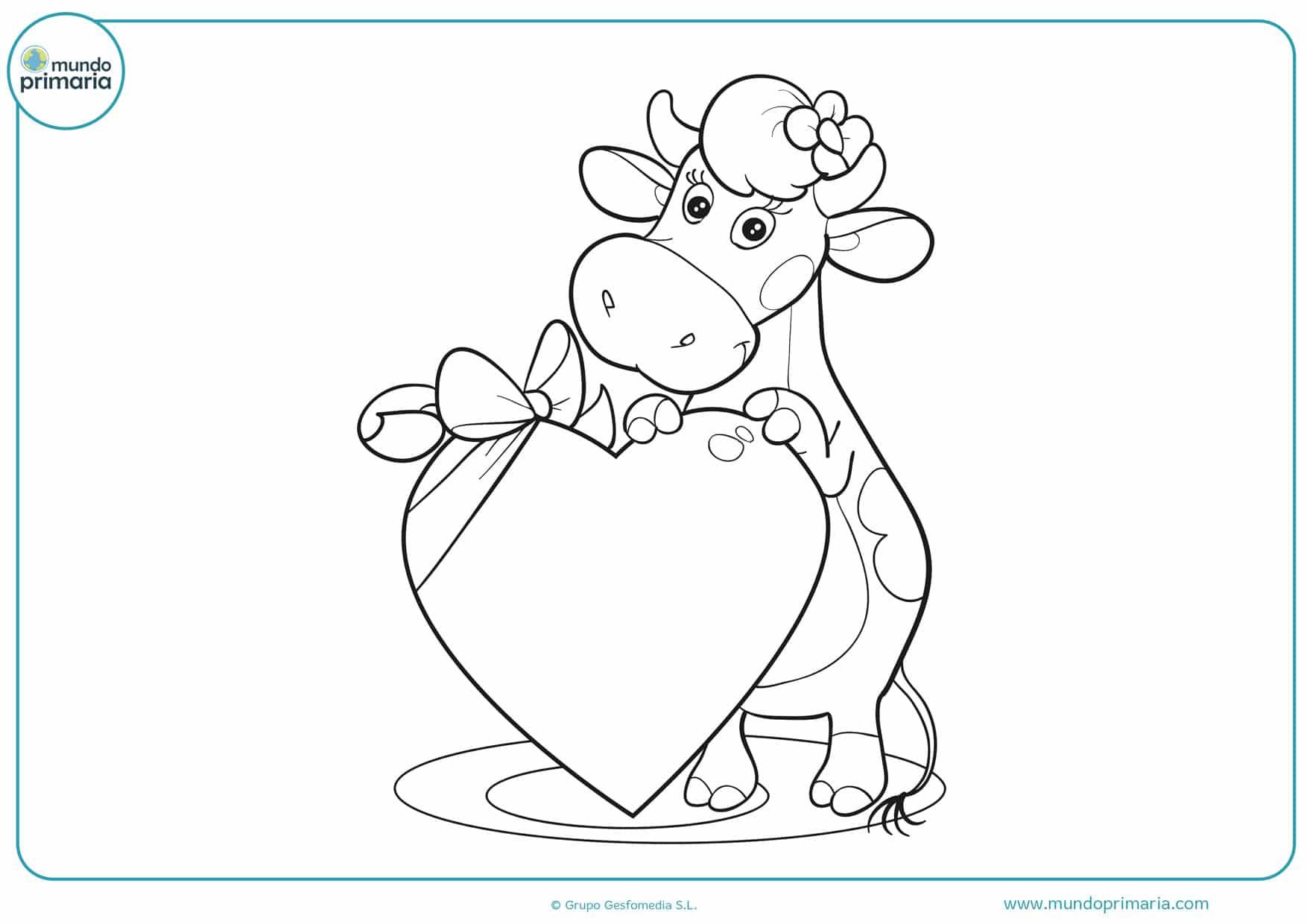 dibujos de corazones para colorear en linea