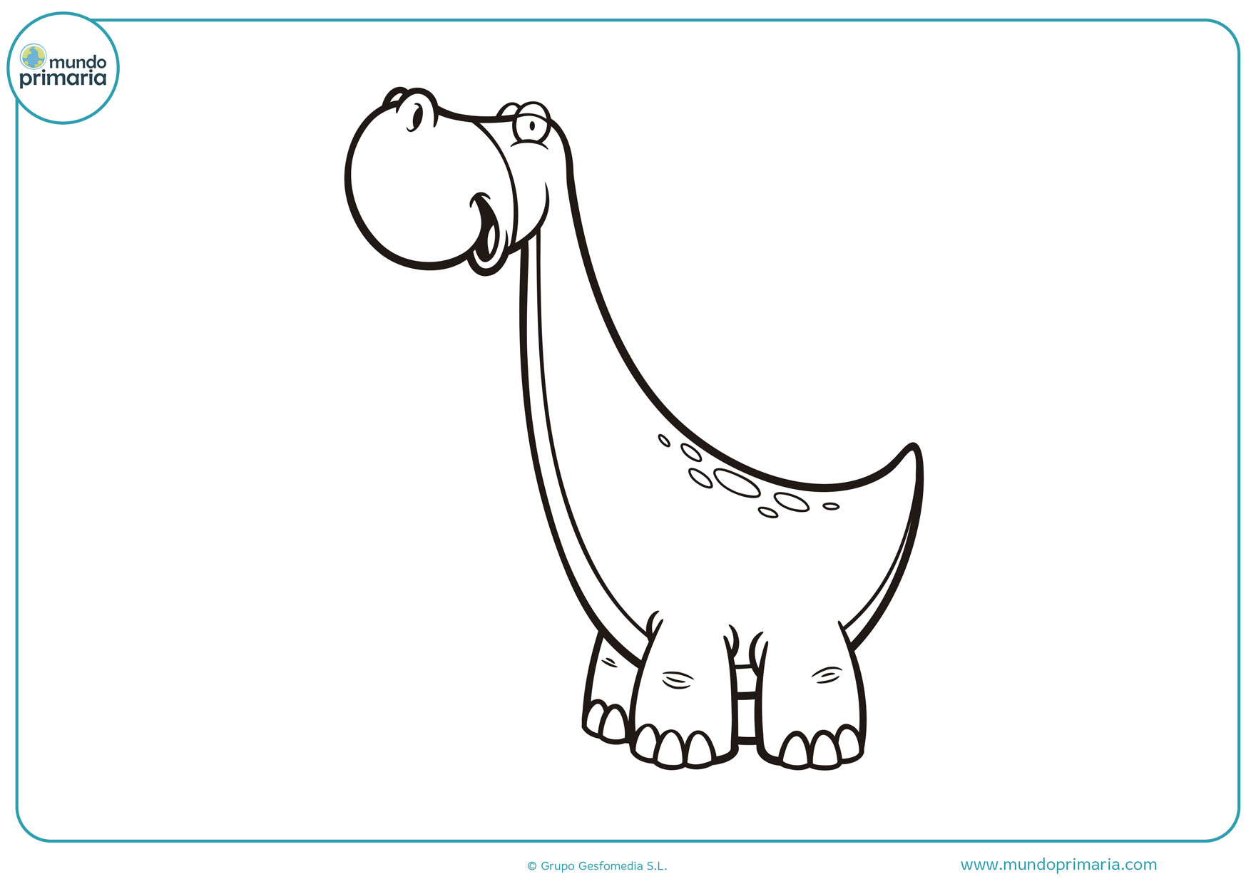 dibujos de dinosaurios para colorear e imprimir gratis