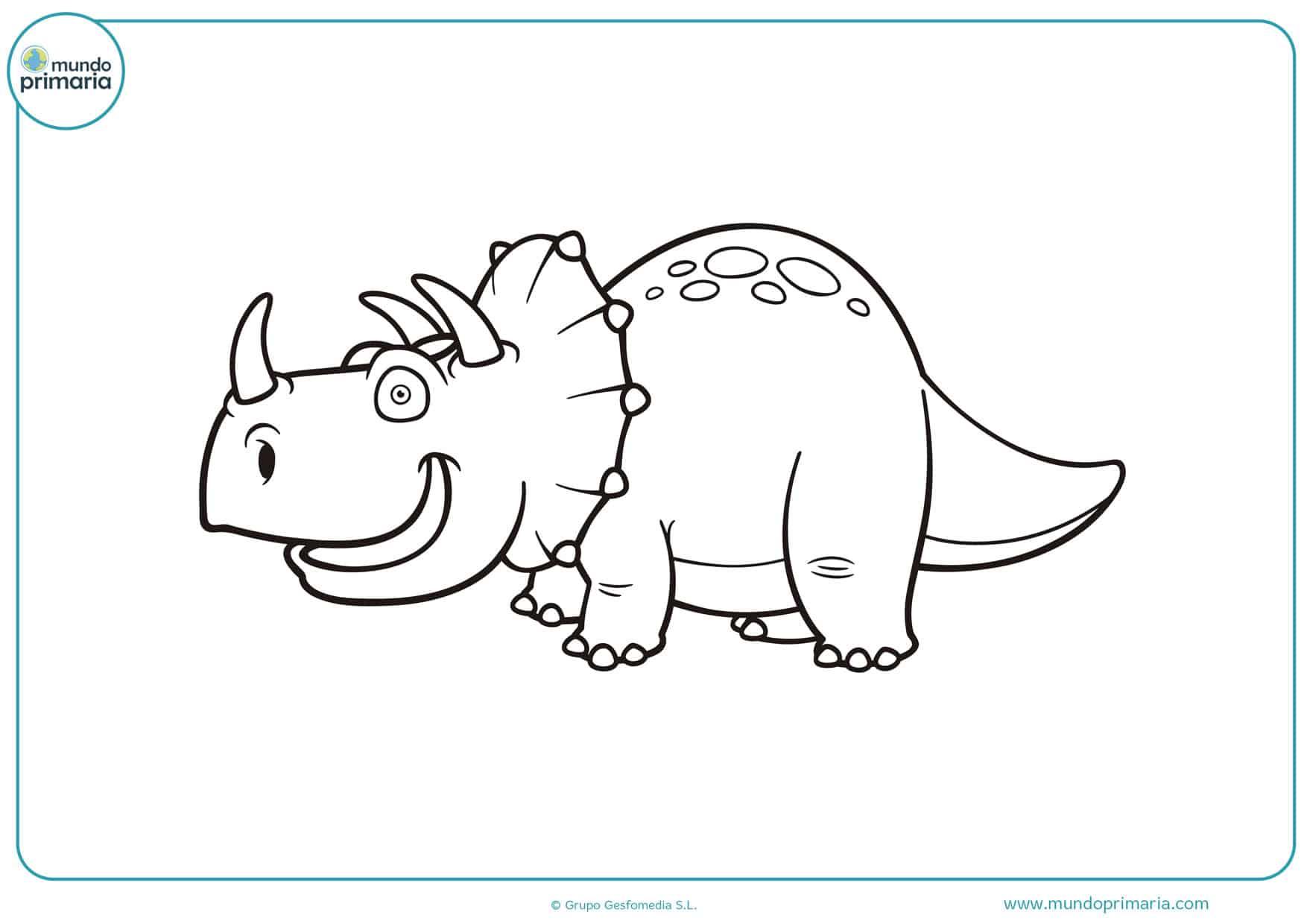 dibujos de dinosaurios de jurassic world para colorear