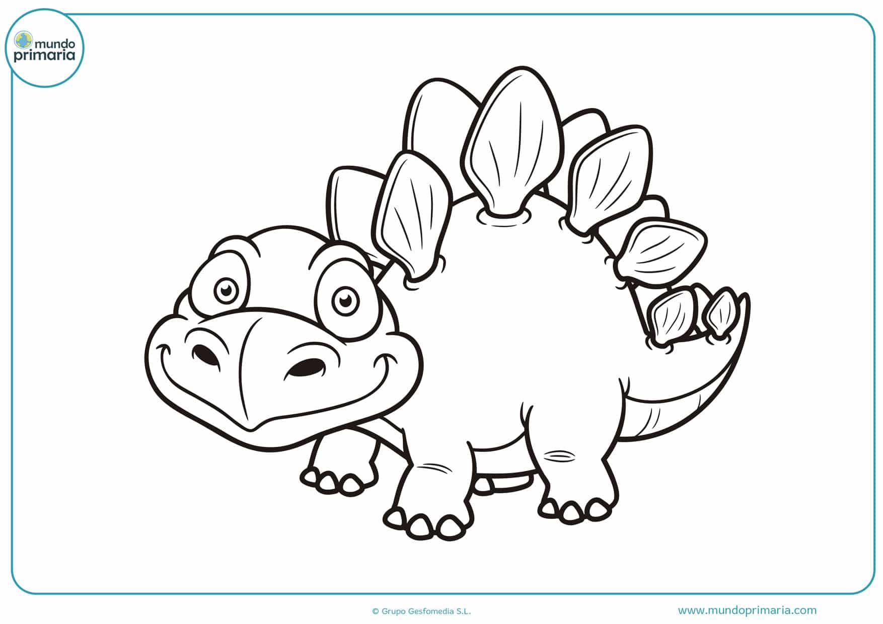 dibujos de dinosaurios para colorear e imprimir