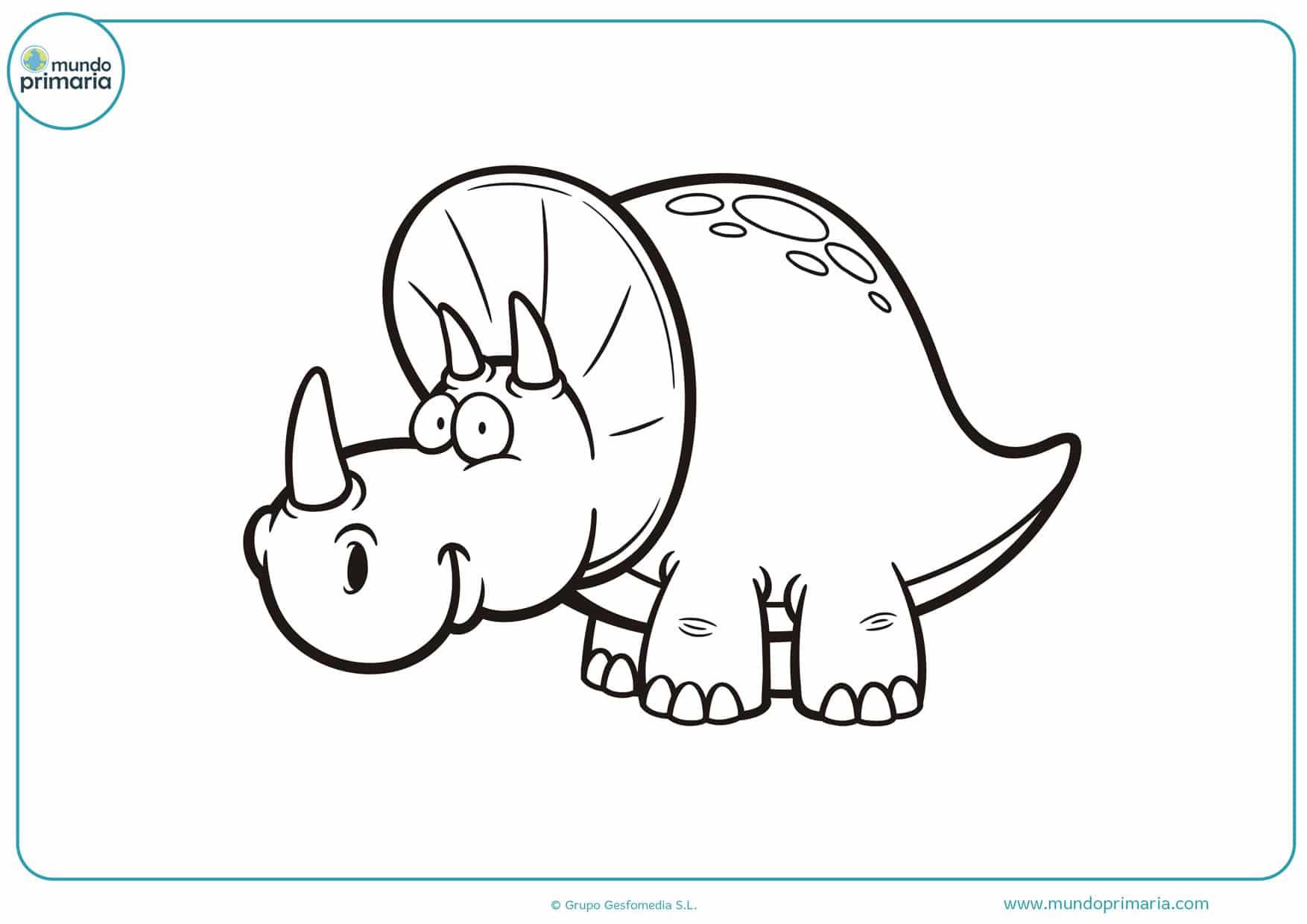 dibujos de dinosaurios para colorear online