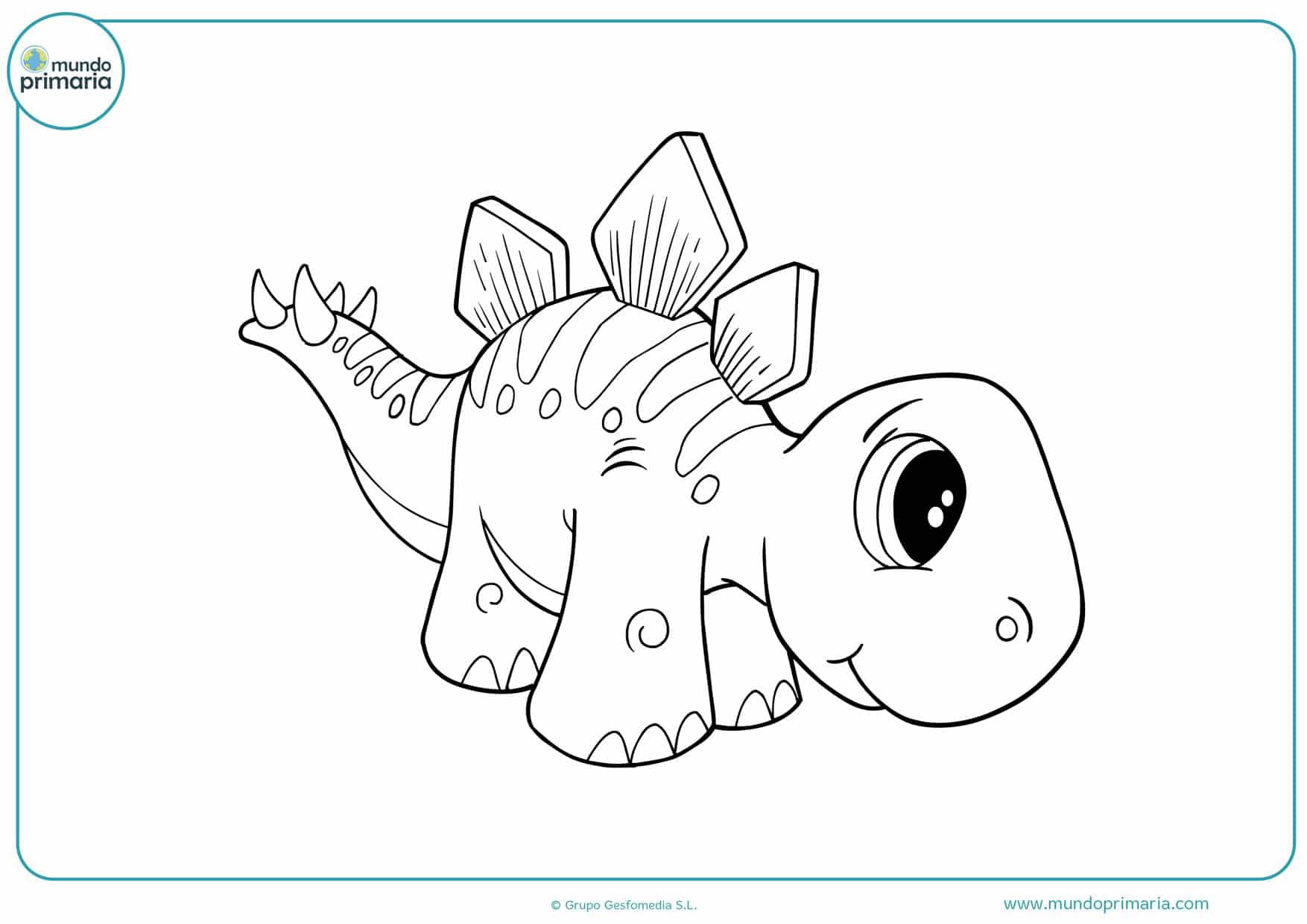 dibujos de dinosaurios rex para colorear