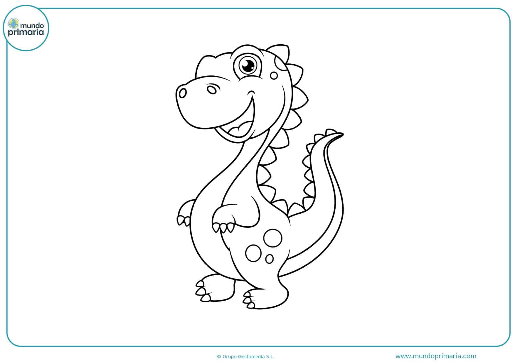 dibujos de dragones animados para colorear