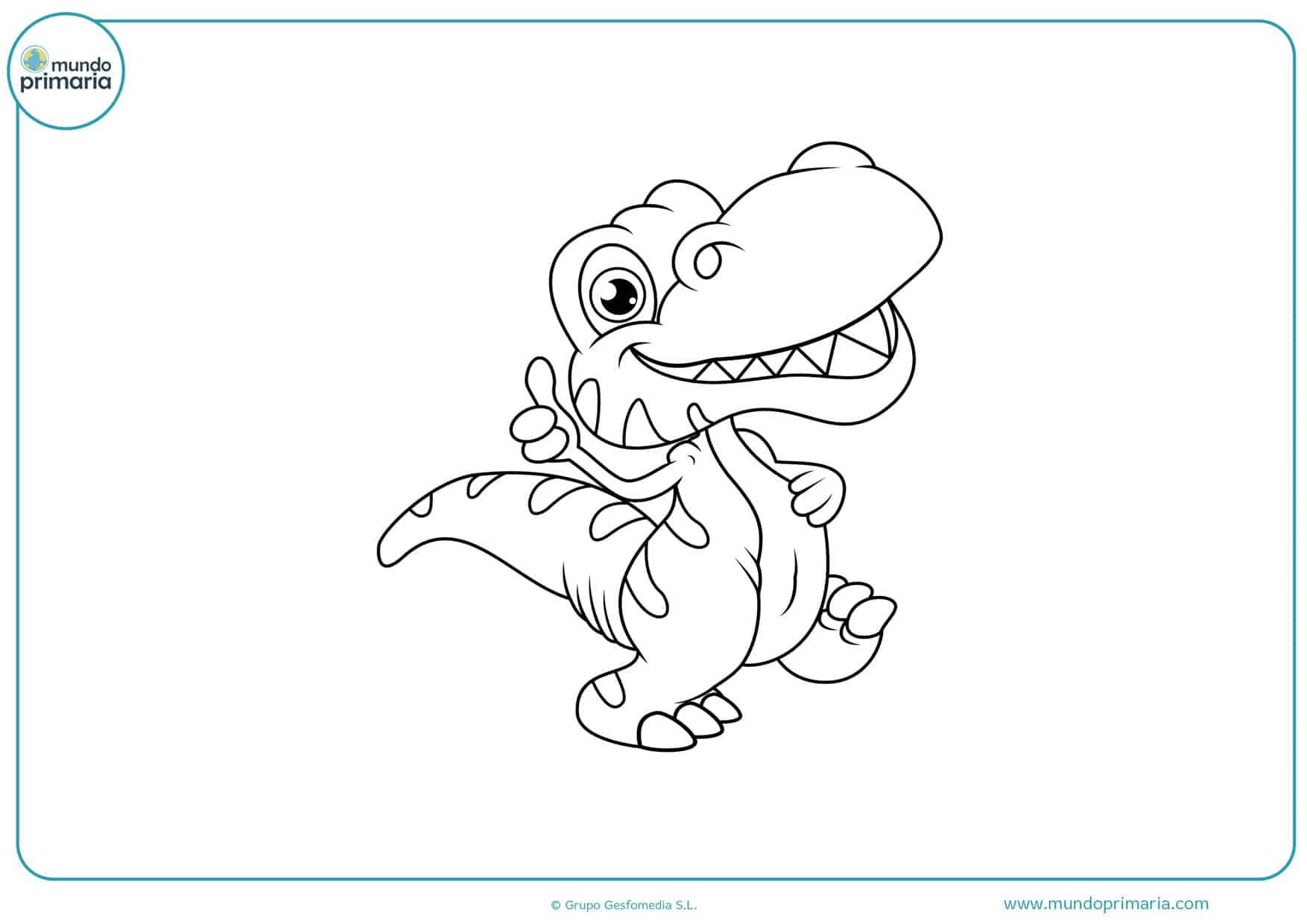 Dibujos de Dragones para colorear - Mundo Primaria