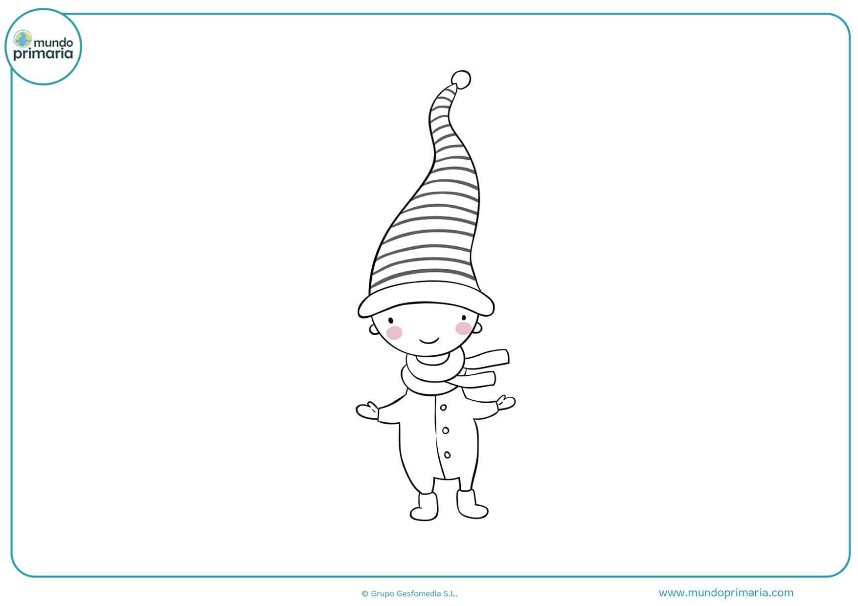 dibujos de duendes infantiles para colorear