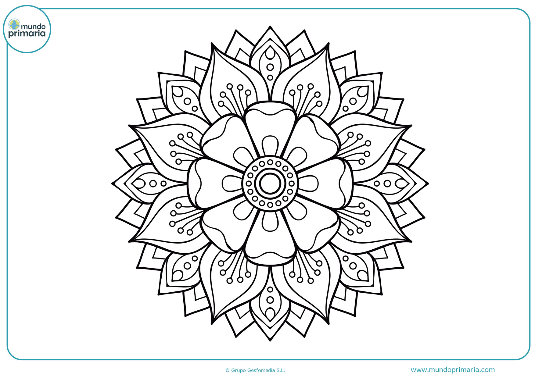 Dibujos De Flores Para Colorear Bonitas Y Fáciles De Pintar