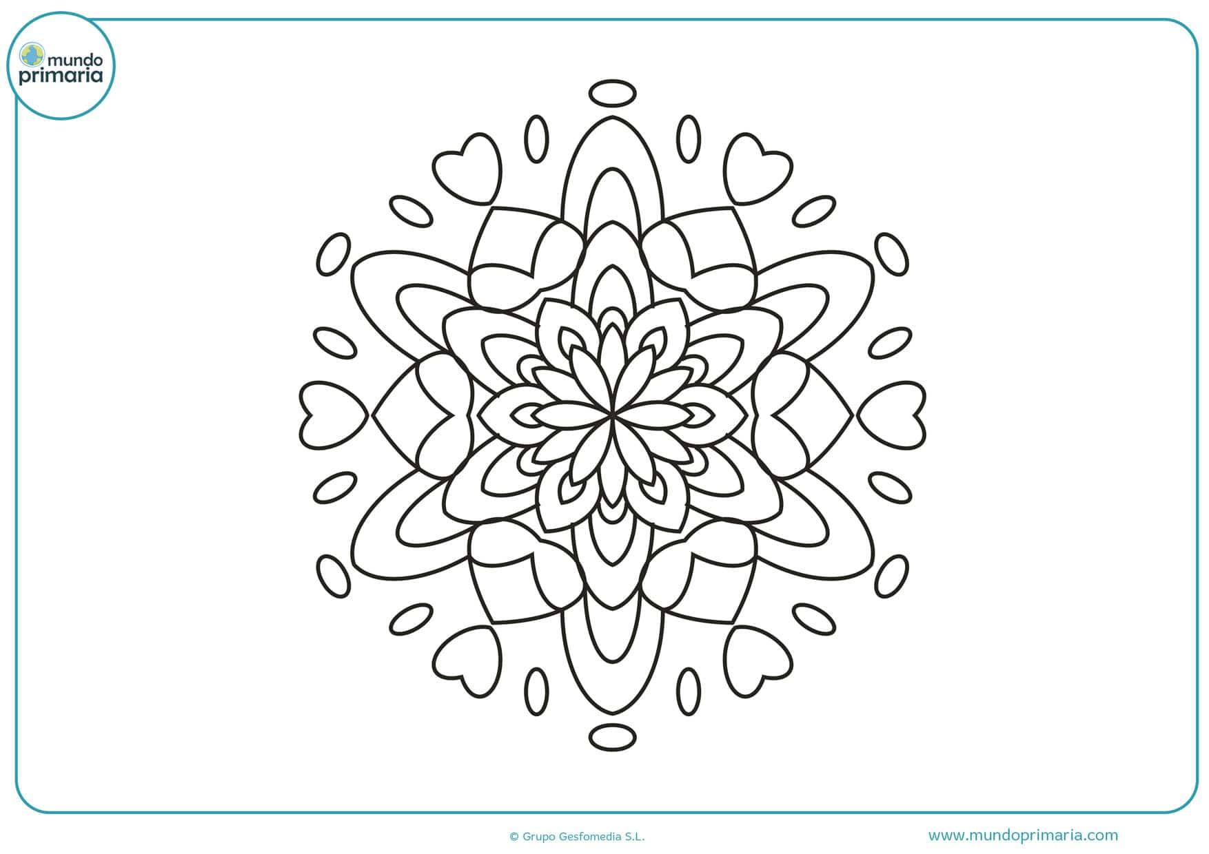 dibujos de flores pequeñas para colorear