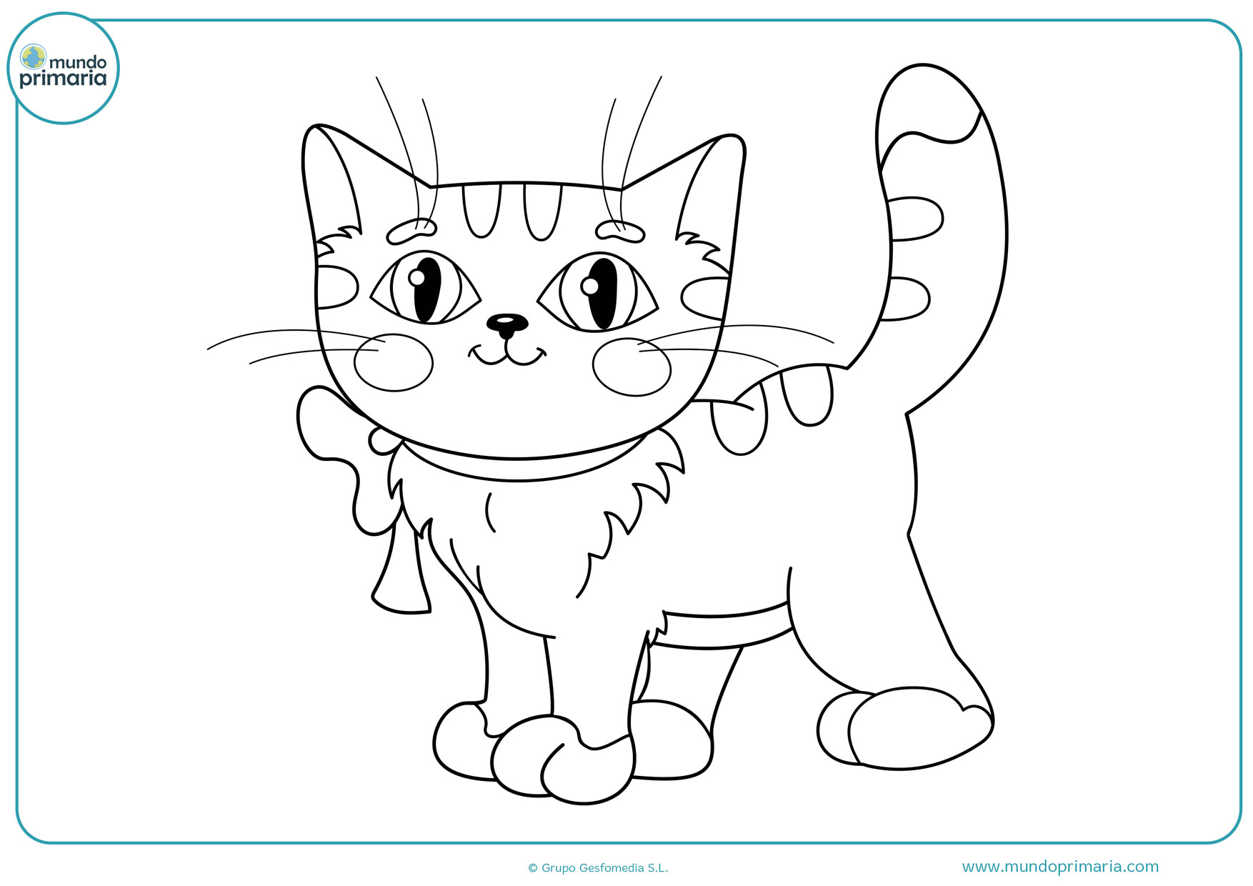 dibujos de gatos para colorear gratis