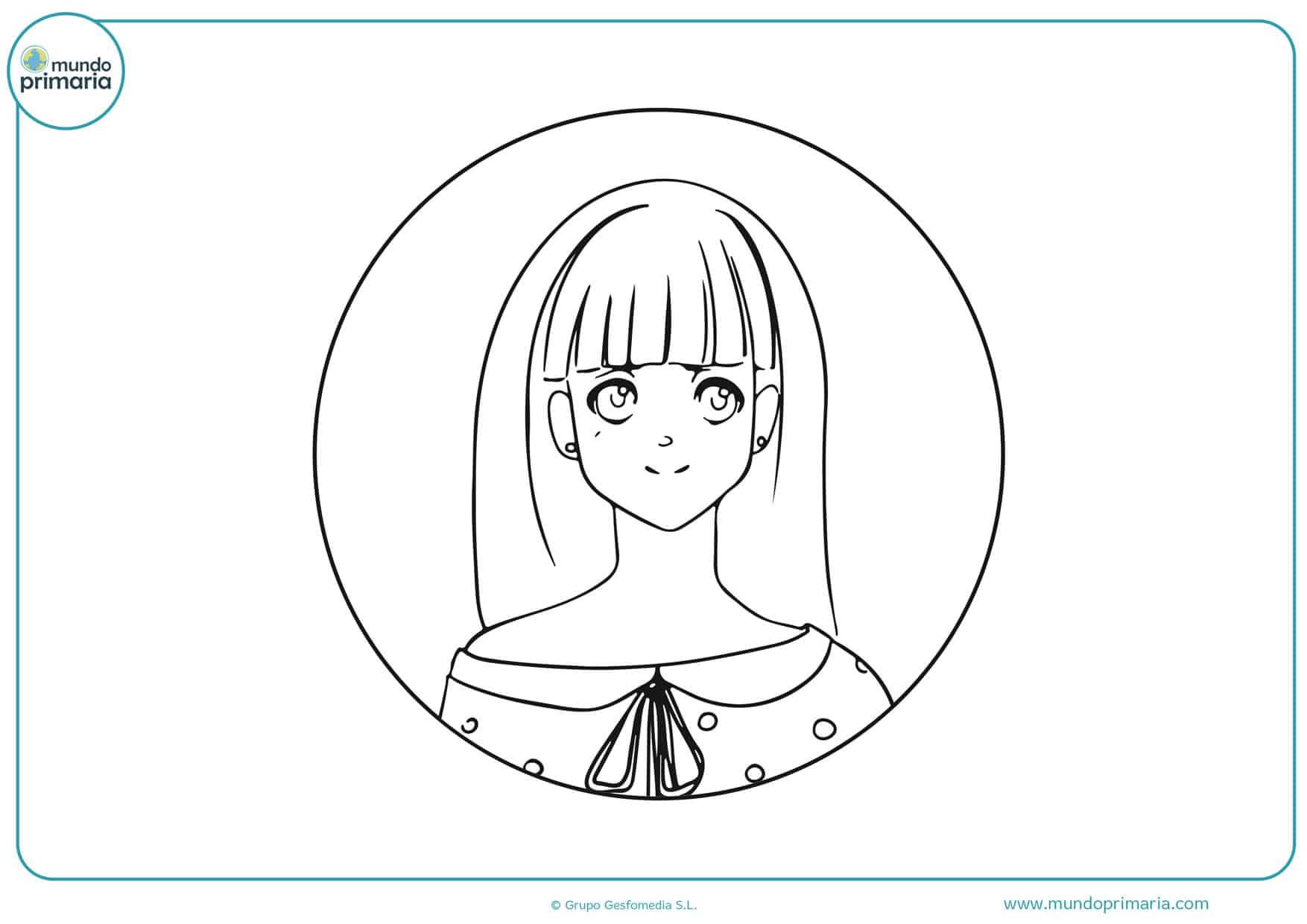 dibujos gratis de manga para imprimir