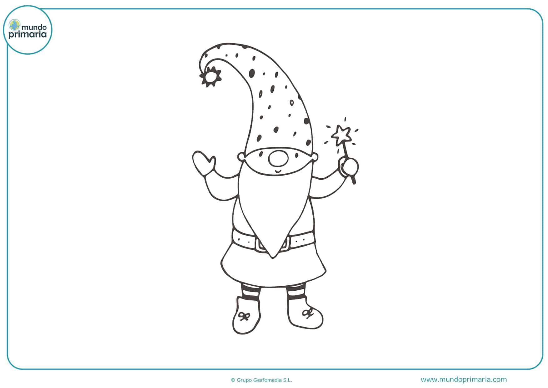 dibujos de hadas y duendes para colorear e imprimir