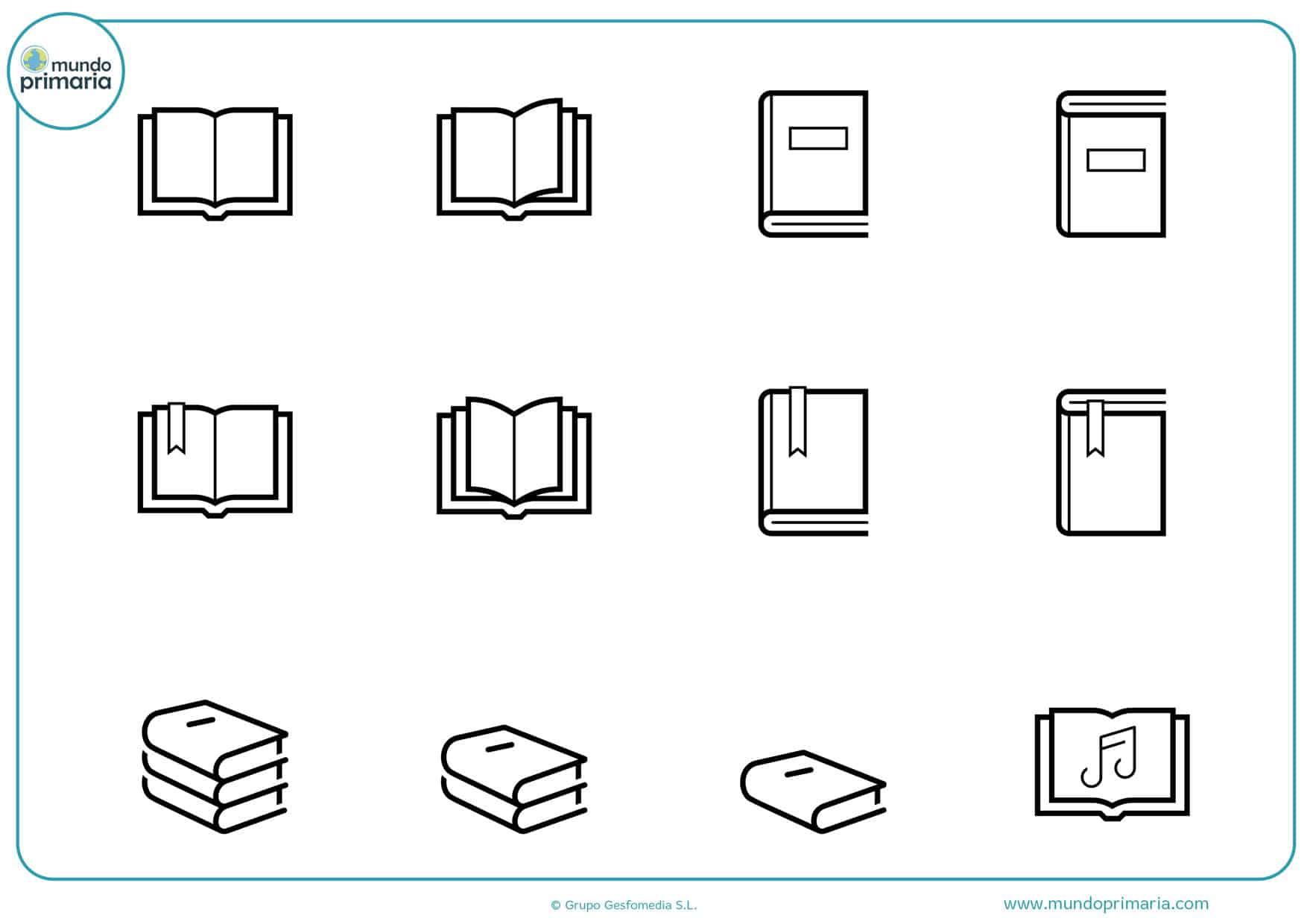 Dibujos De Libros Para Colorear Animados Y Divertidos