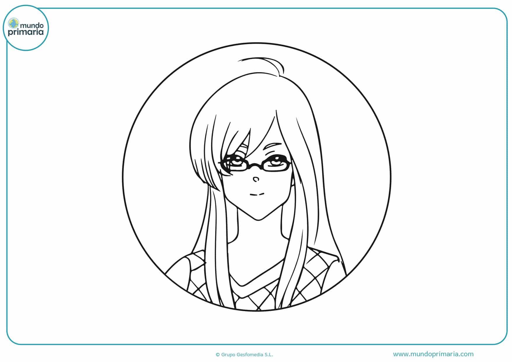 dibujos de manga para colorear
