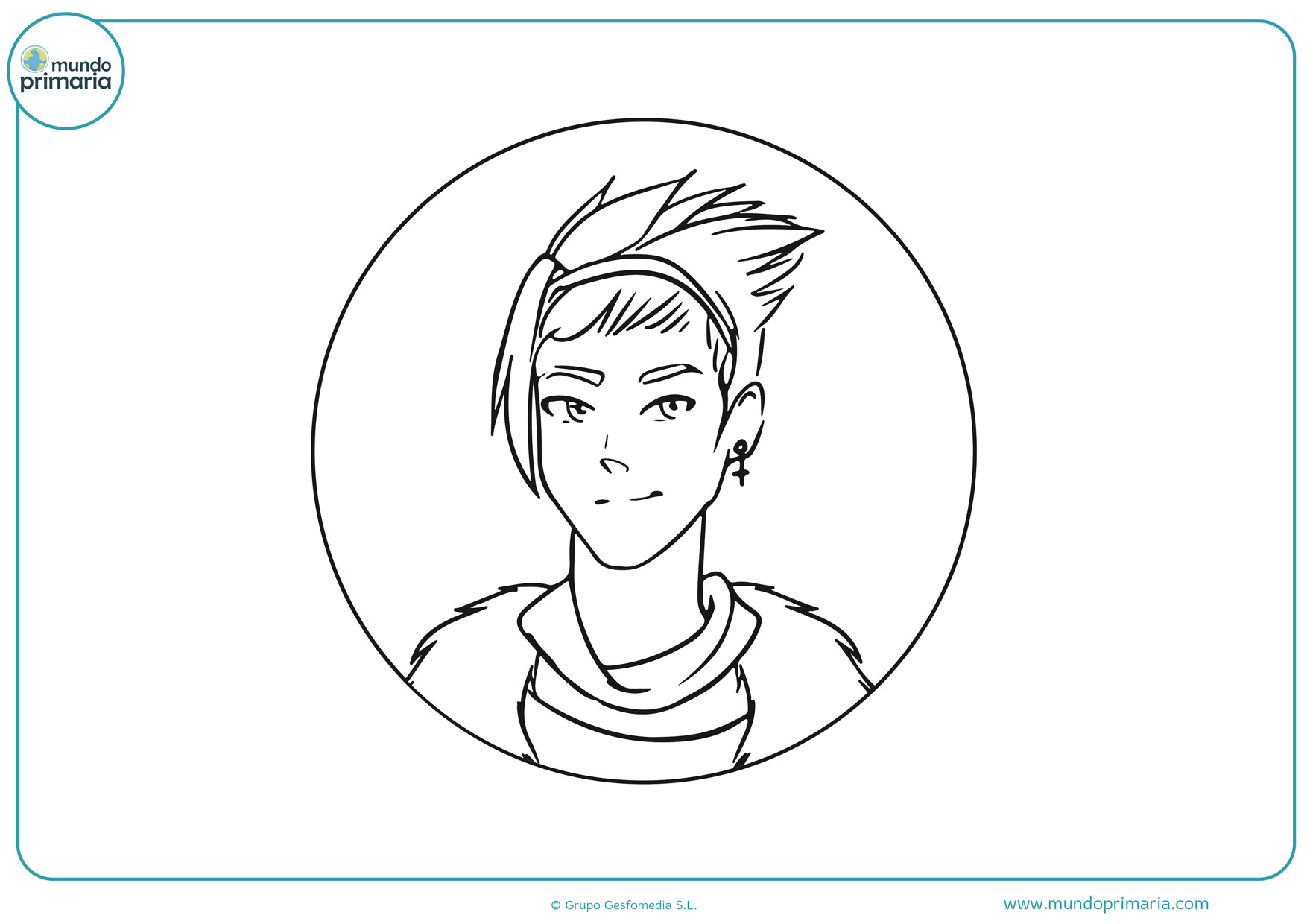 dibujos de manga para imprimir