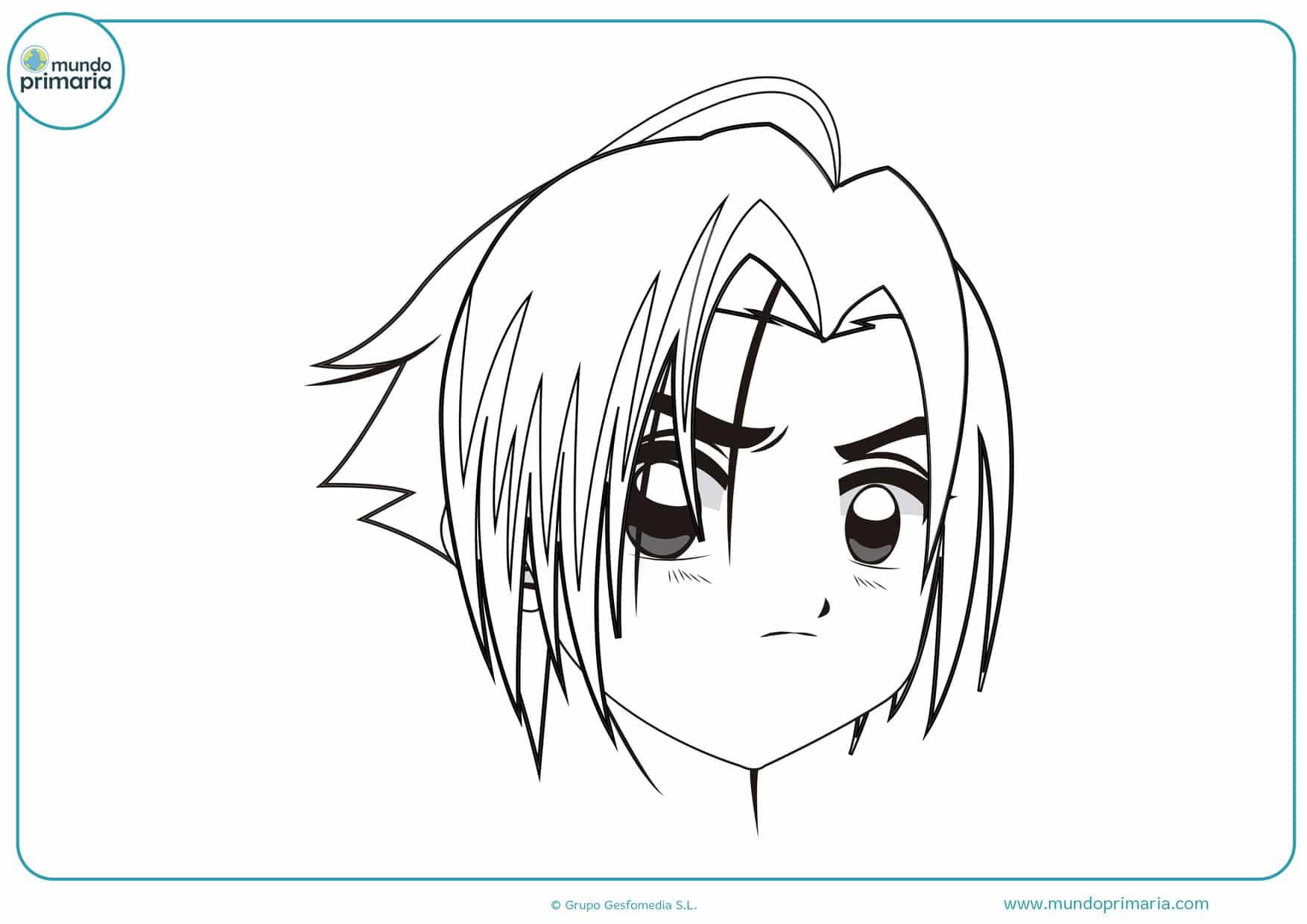 dibujos de manga para pintar