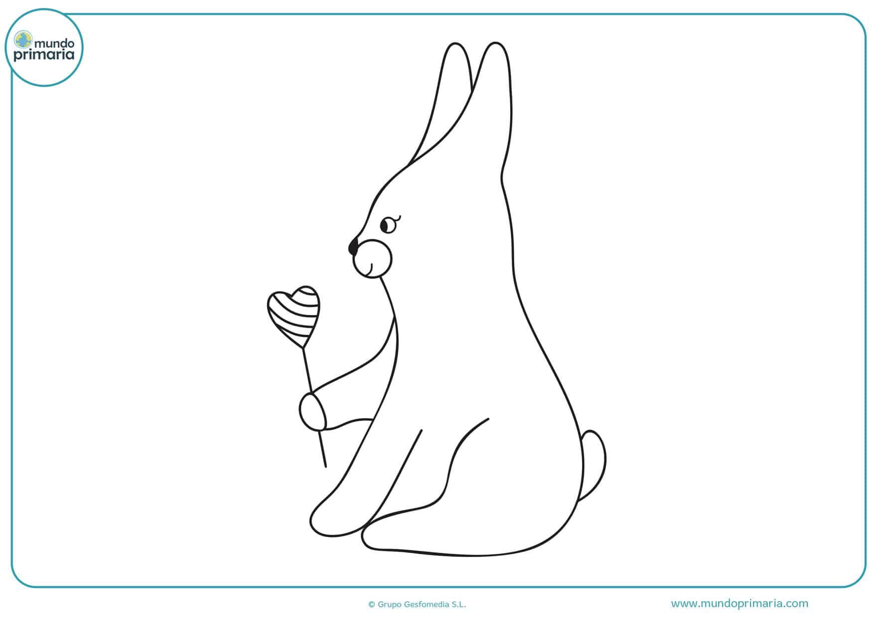dibujos para colorear de amor y amistad para niños