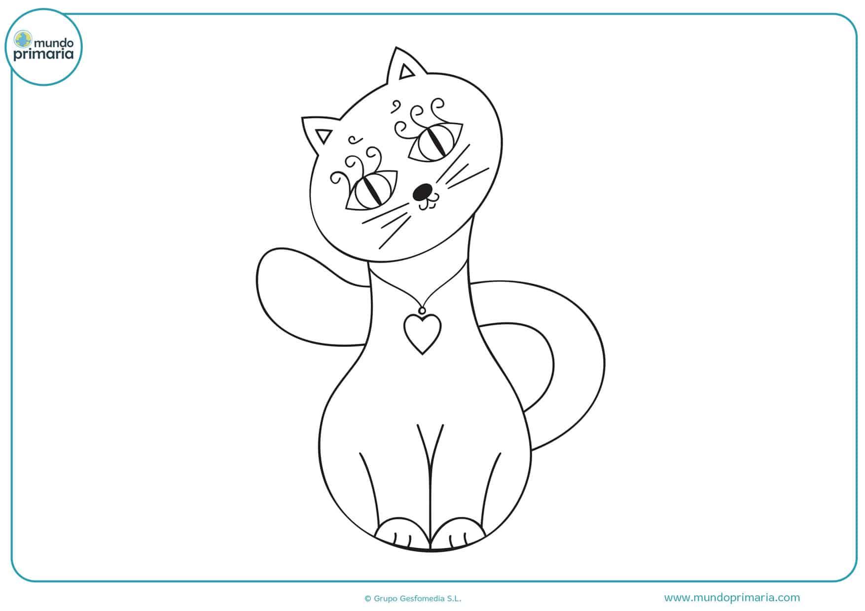 dibujos para colorear de amor de animales