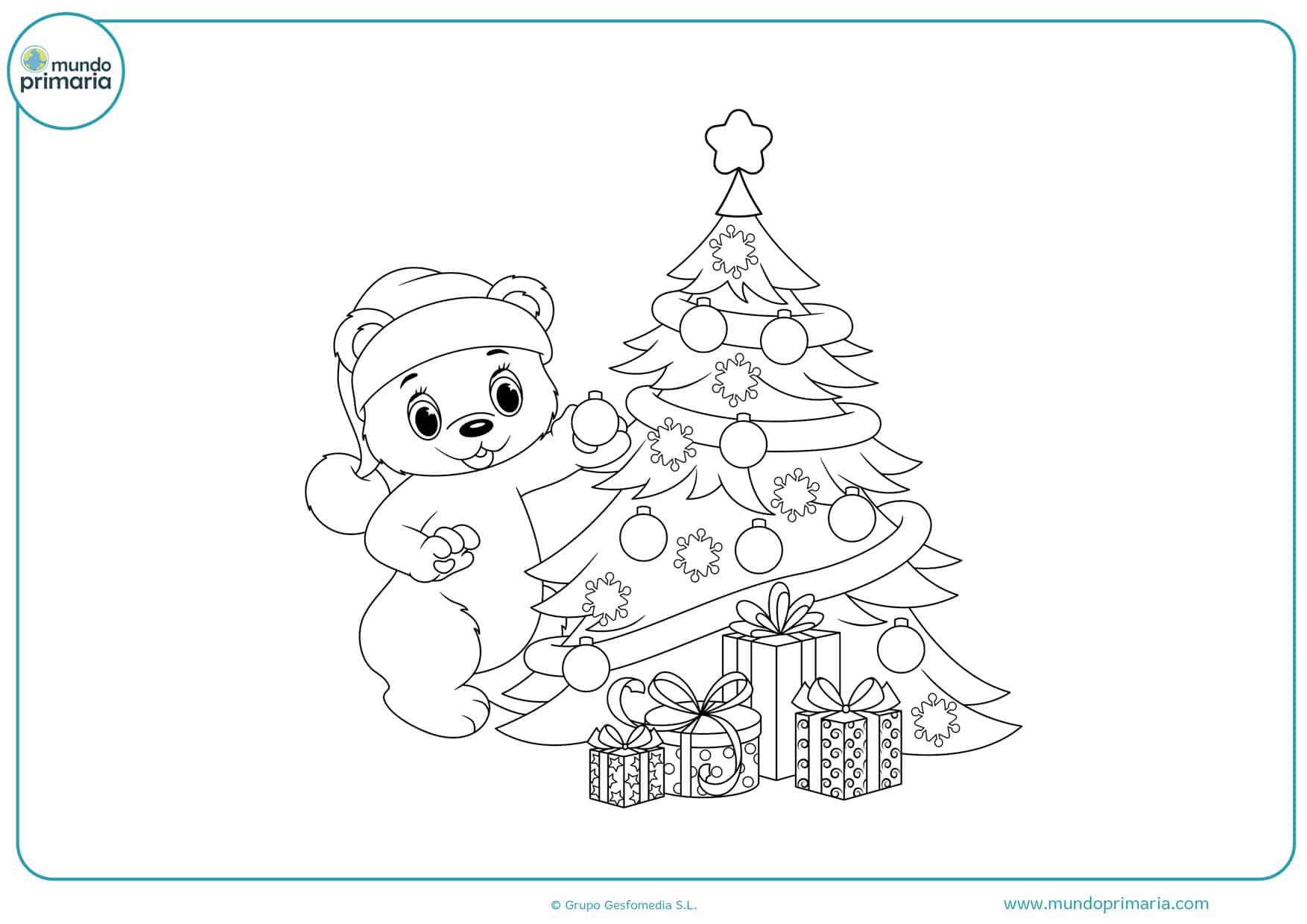 Dibujos De Navidad Para Colorear E Imprimir Originales Y Bonitos