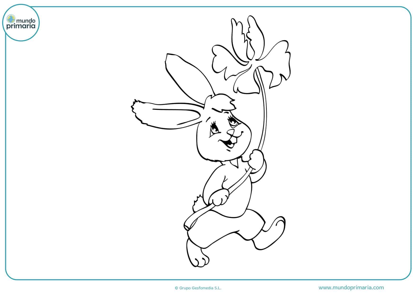 dibujos para colorear de conejos