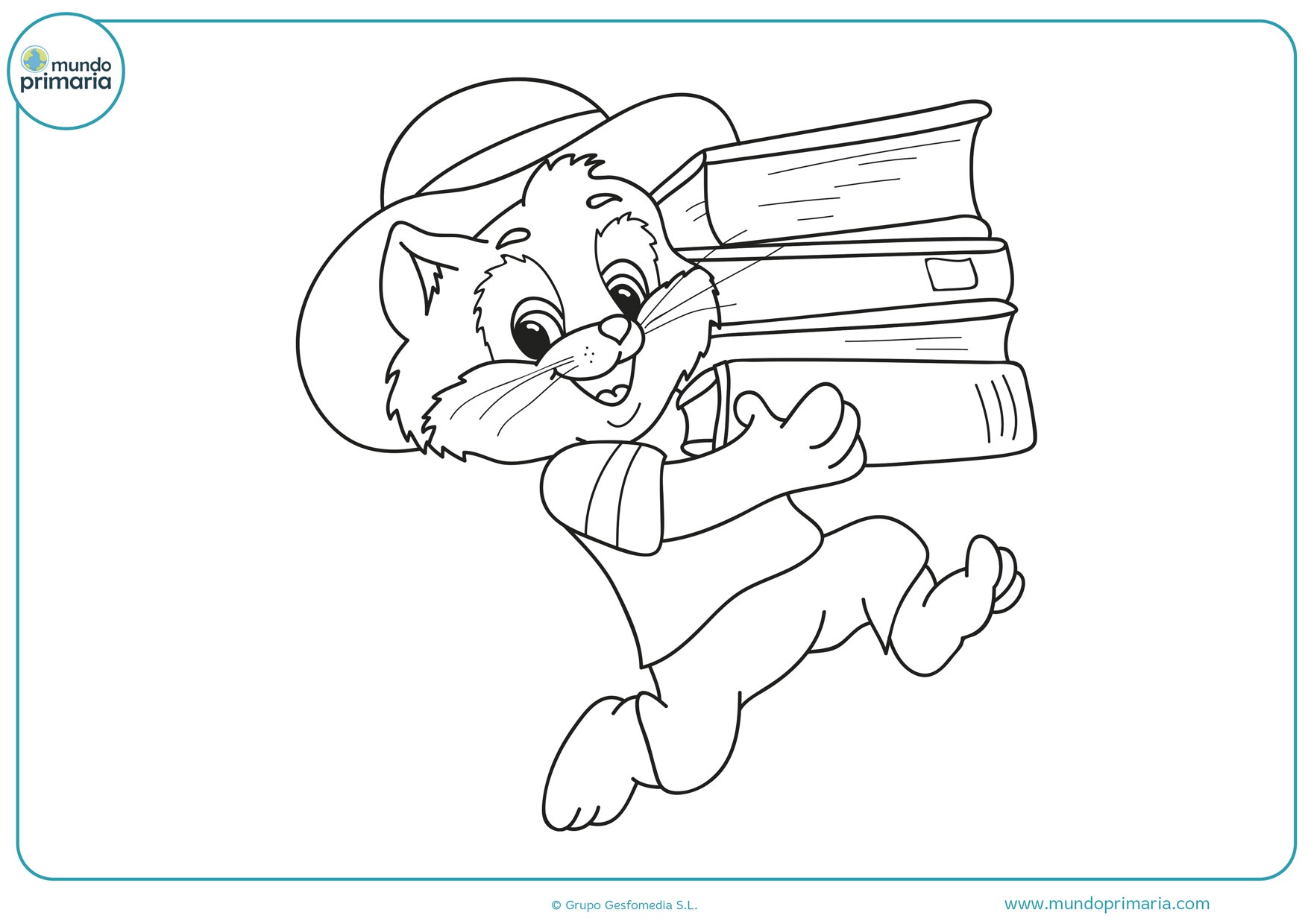 dibujos para colorear difíciles de gatos