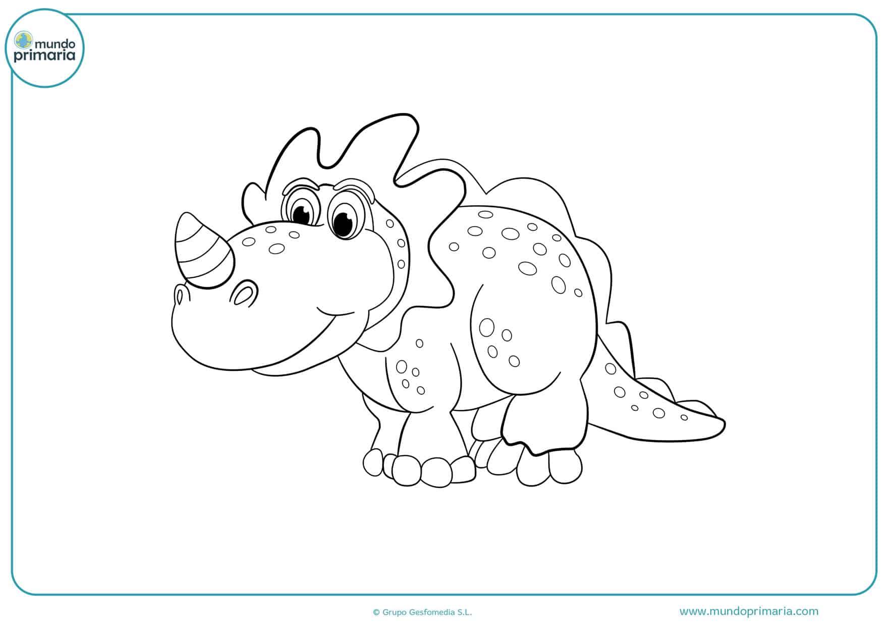 dibujos para colorear de dinosaurios gratis