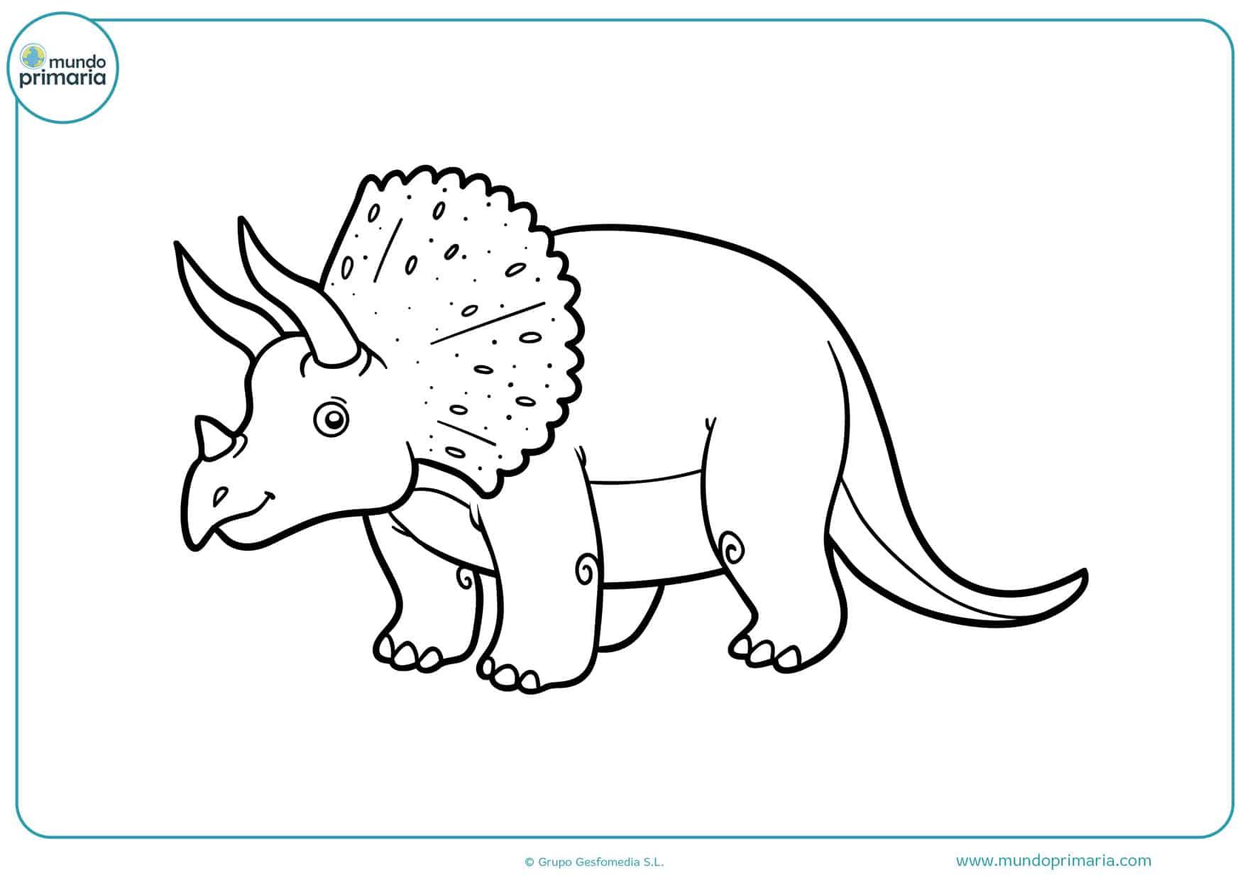 Dibujos De Dinosaurios Para Colorear Imprimir Y Pintar Los dinosaurios (dinosauria, del griego δεινός deinos 'terrible' y σαῦρος sauros 'lagarto': dibujos de dinosaurios para colorear