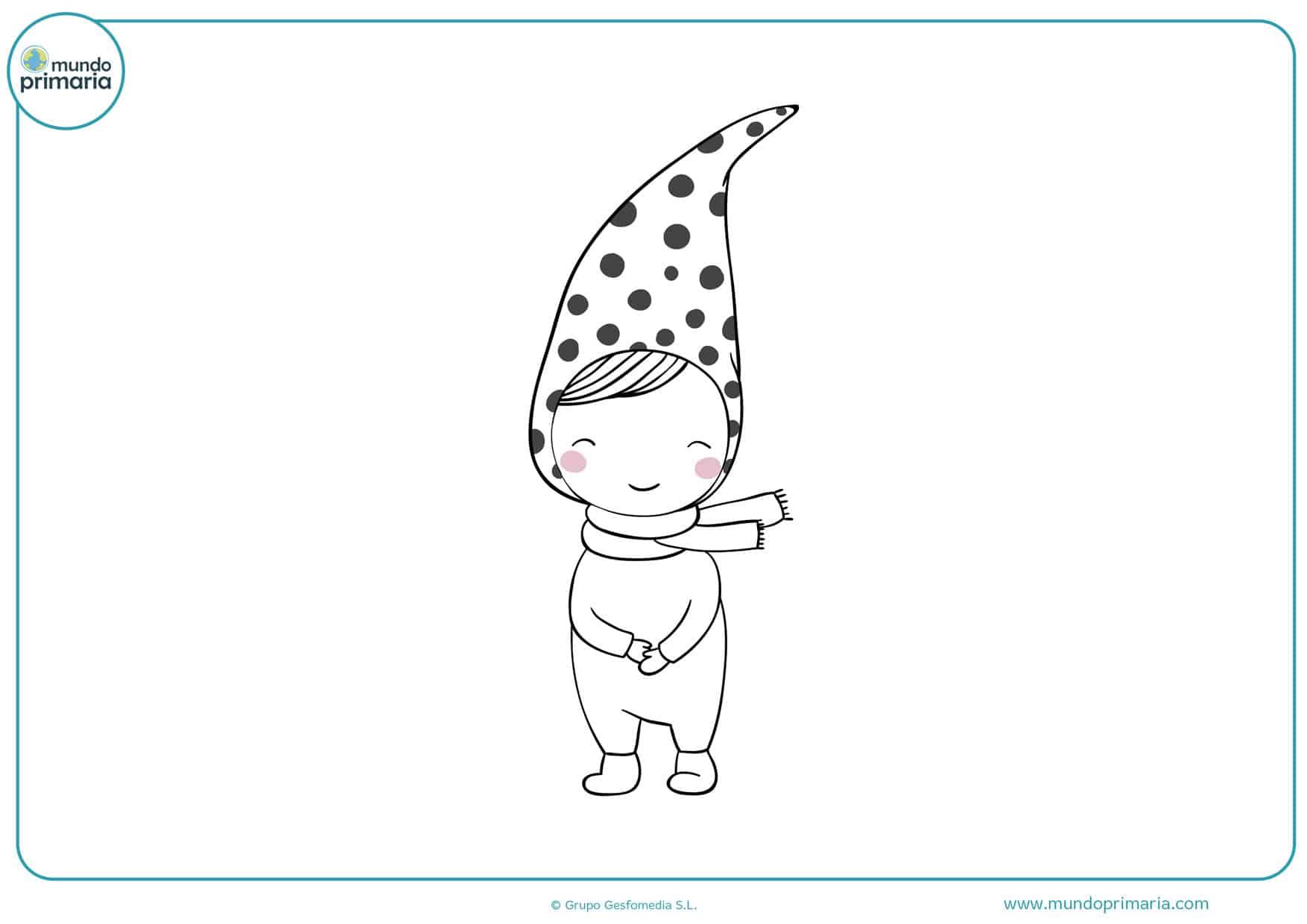dibujos para colorear de duendes y hadas