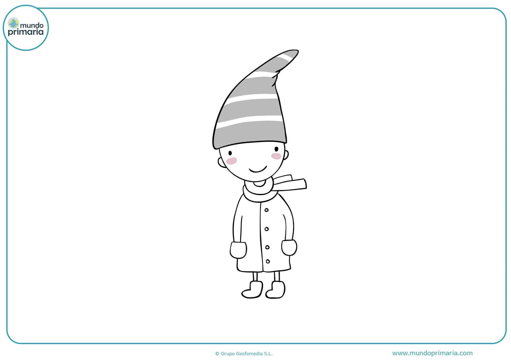 dibujos para colorear de hadas elfos y duendes