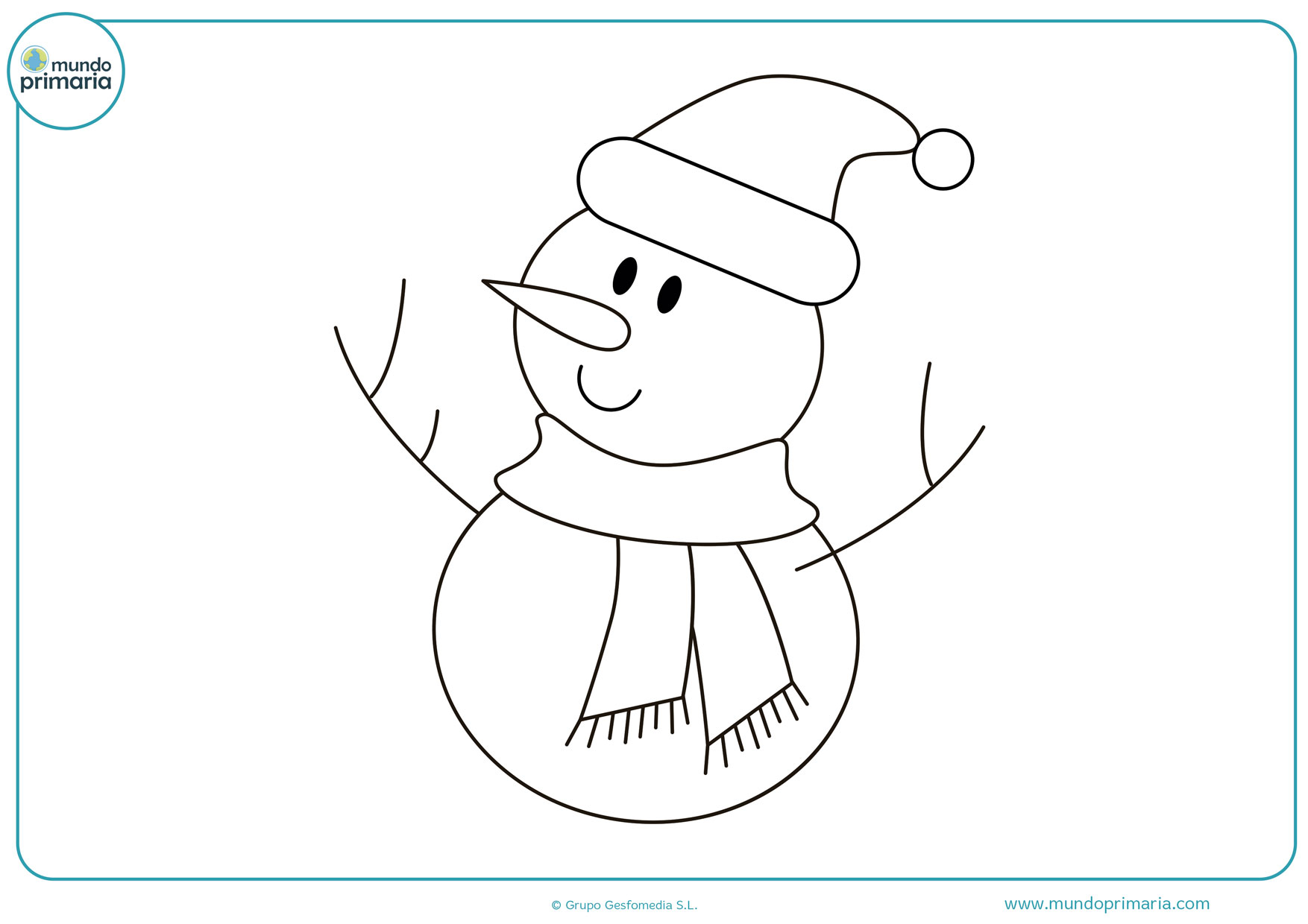 Dibujos Para Colorear De Navidad Faciles