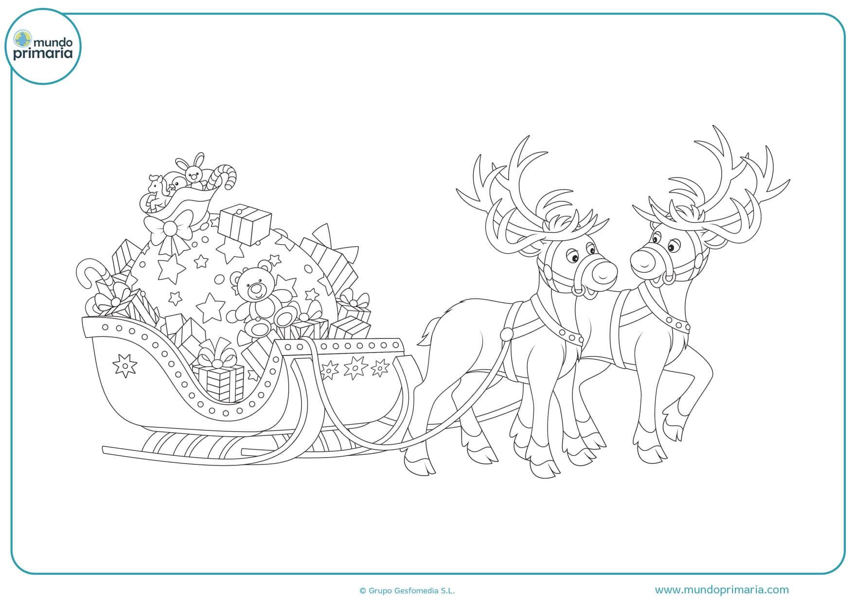 dibujos para colorear de navidad gratis