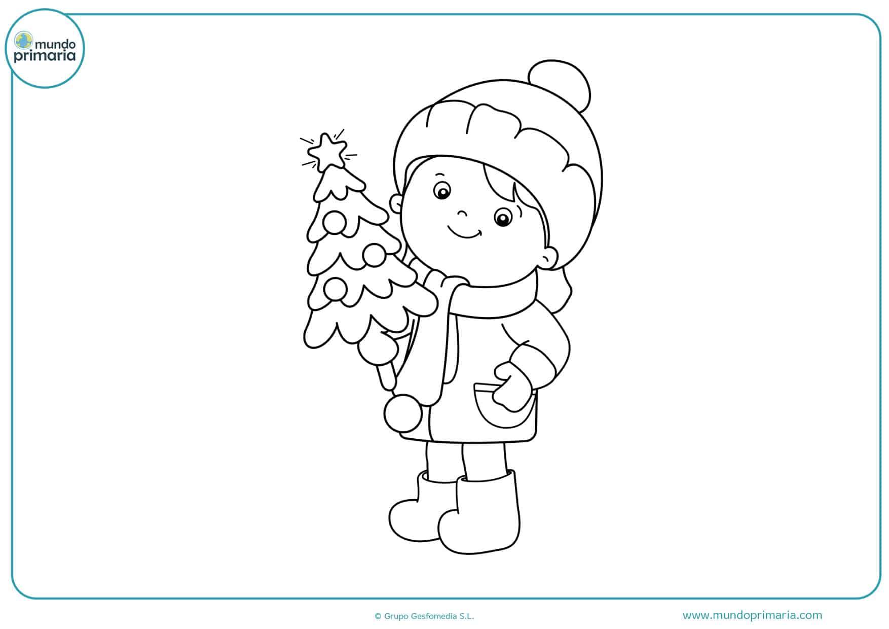 dibujos para colorear de navidad e imprimir