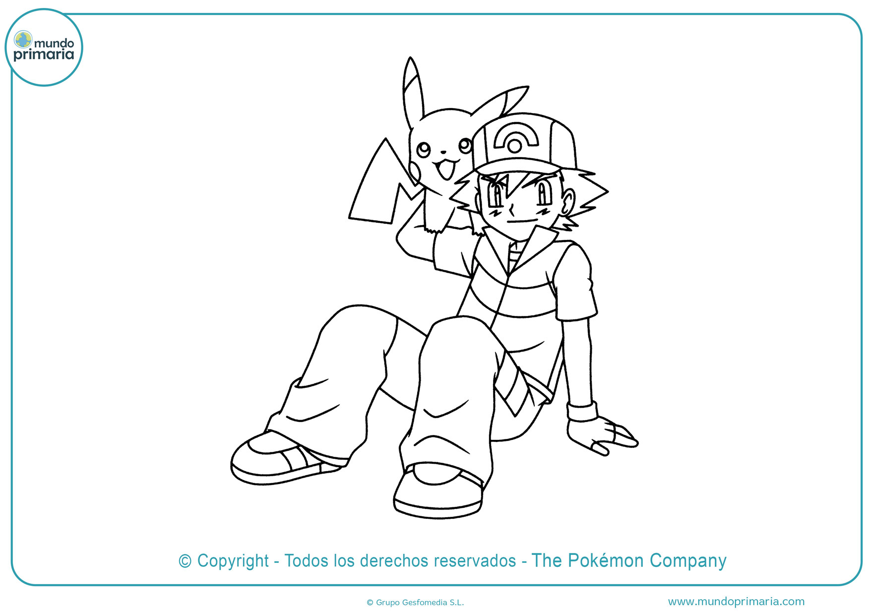 dibujos para colorear de pokémon go