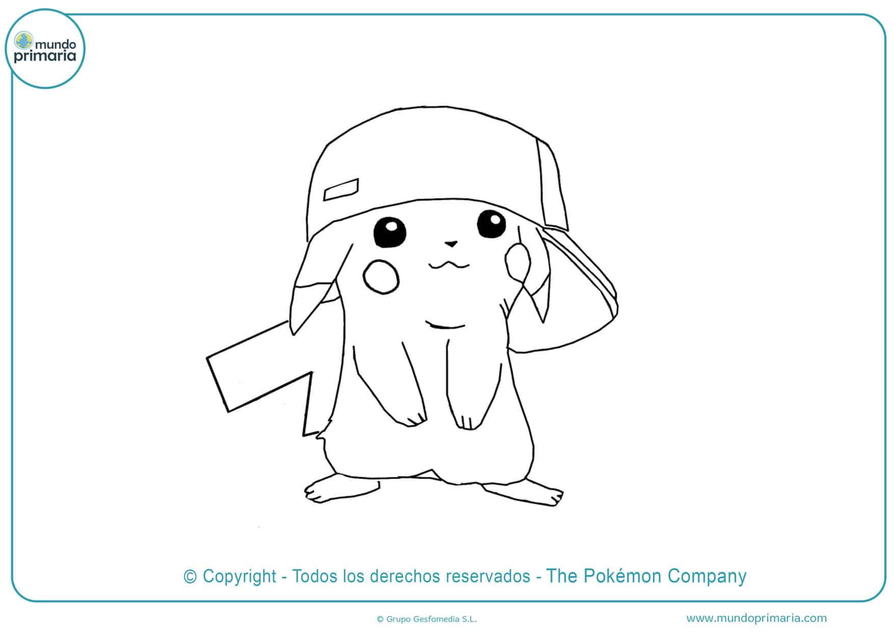 dibujos para colorear de pokémon para imprimir