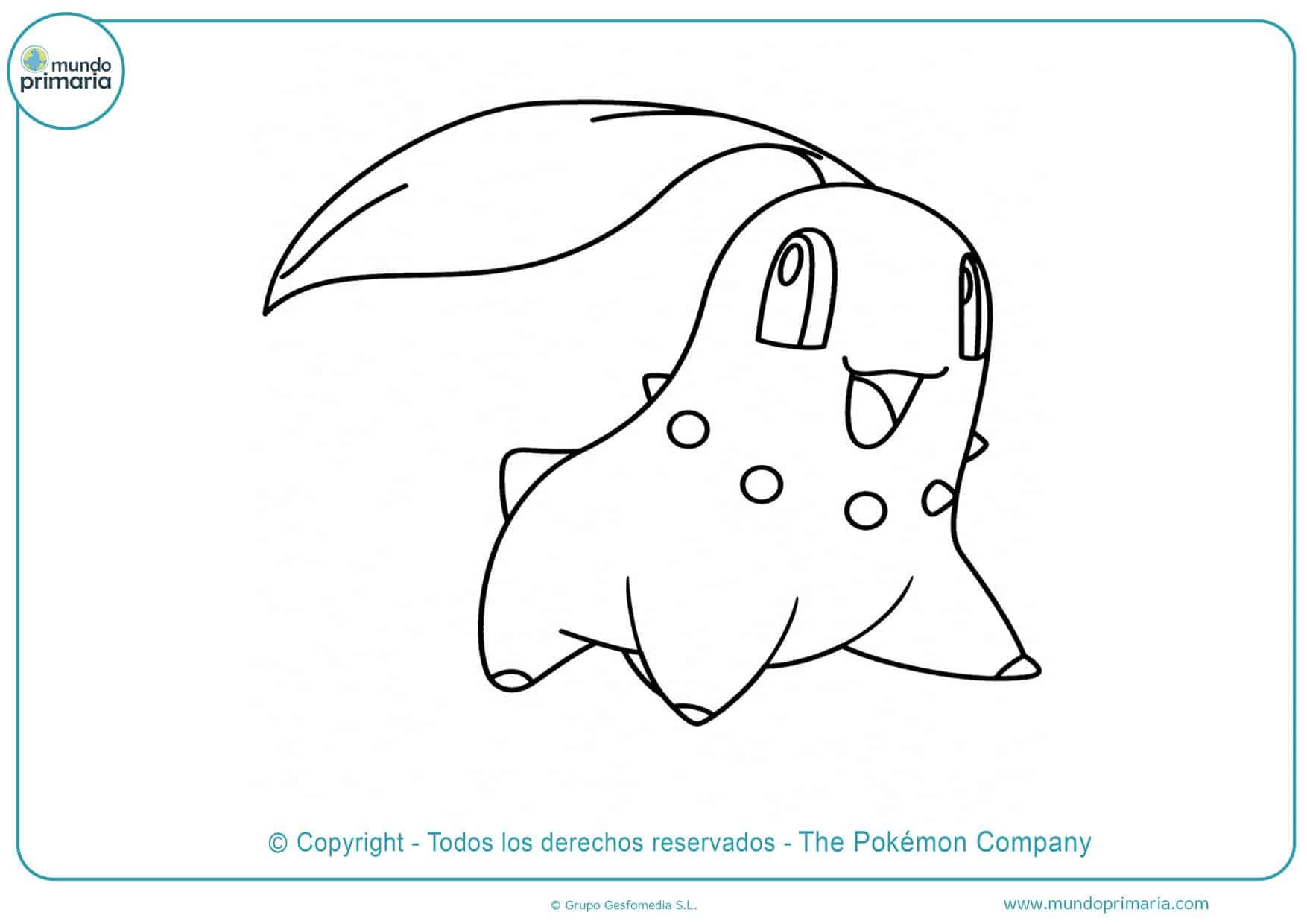 dibujos para colorear de pokémon xy