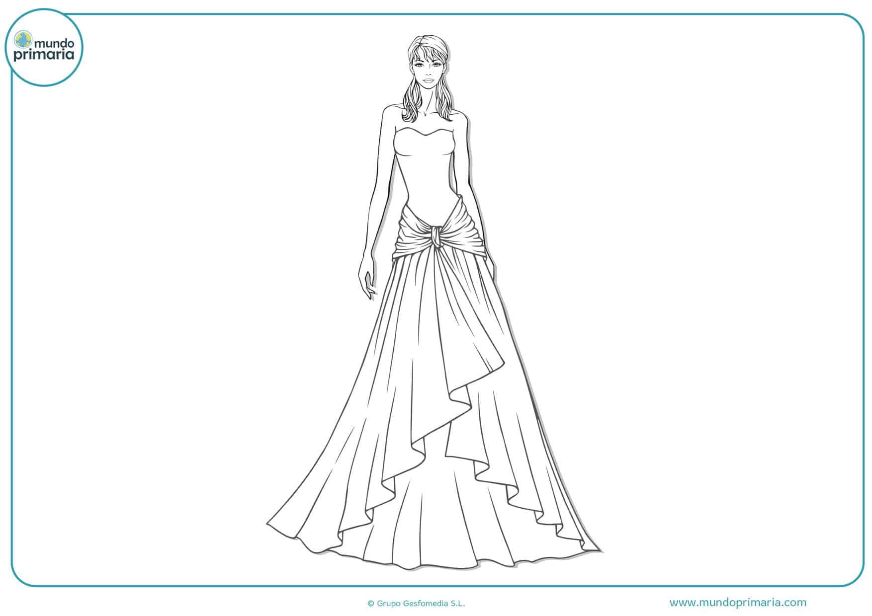 dibujos para colorear sobre las bodas