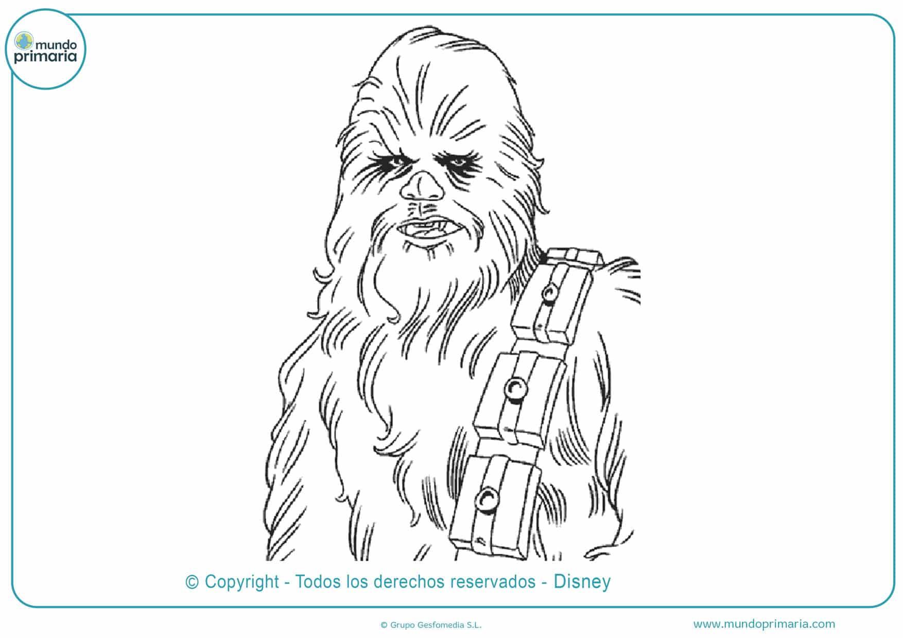 dibujos para colorear de star wars clones