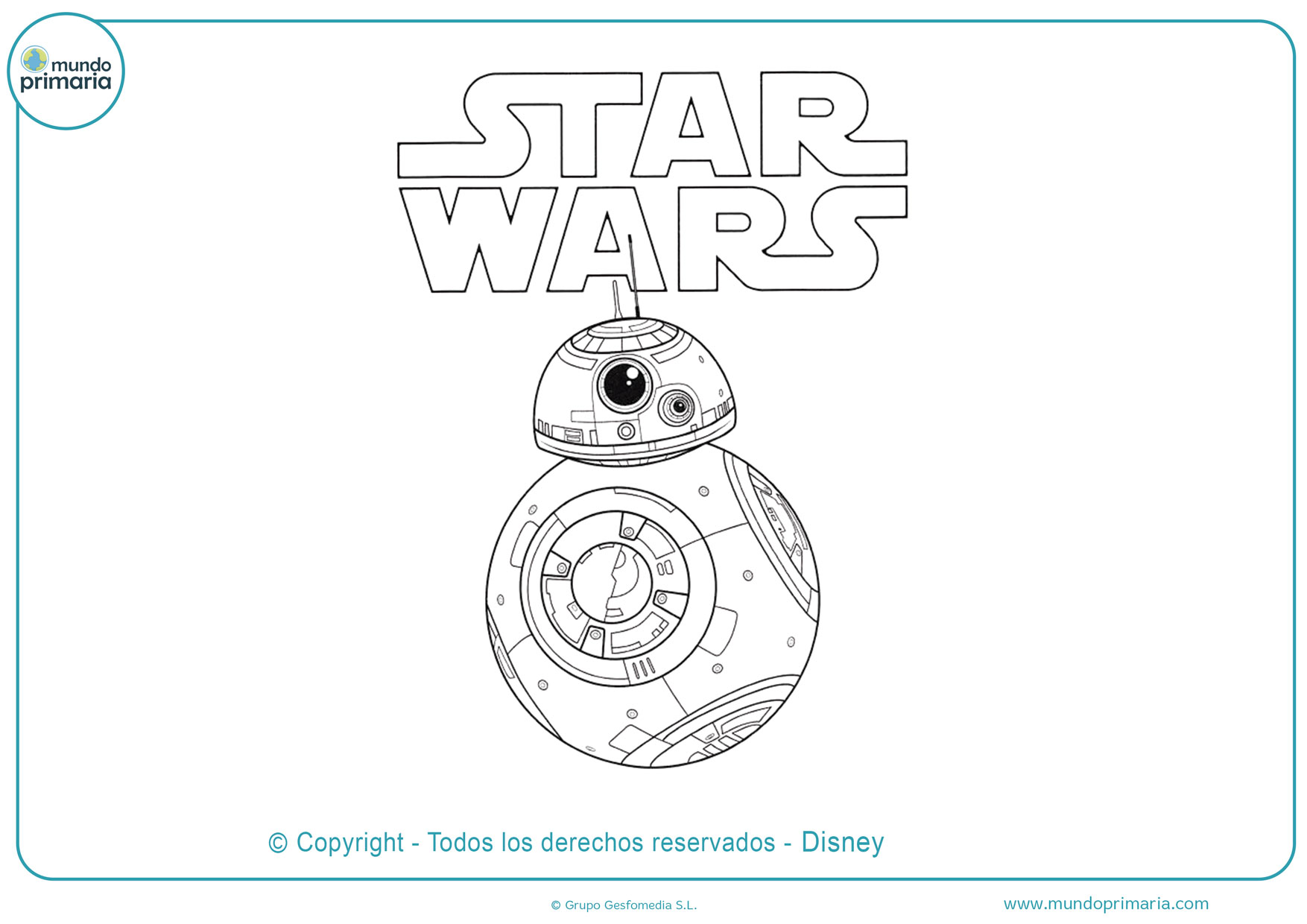 Dibujos De Star Wars Para Colorear Imprimir Y Pintar