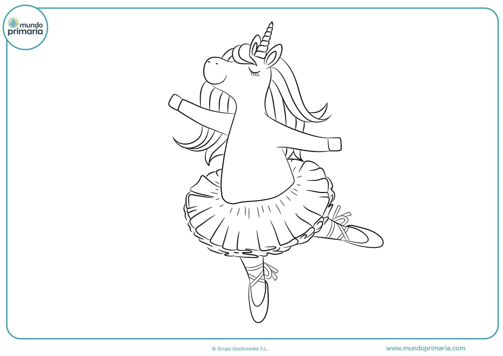 dibujos para colorear de unicornios bonitos