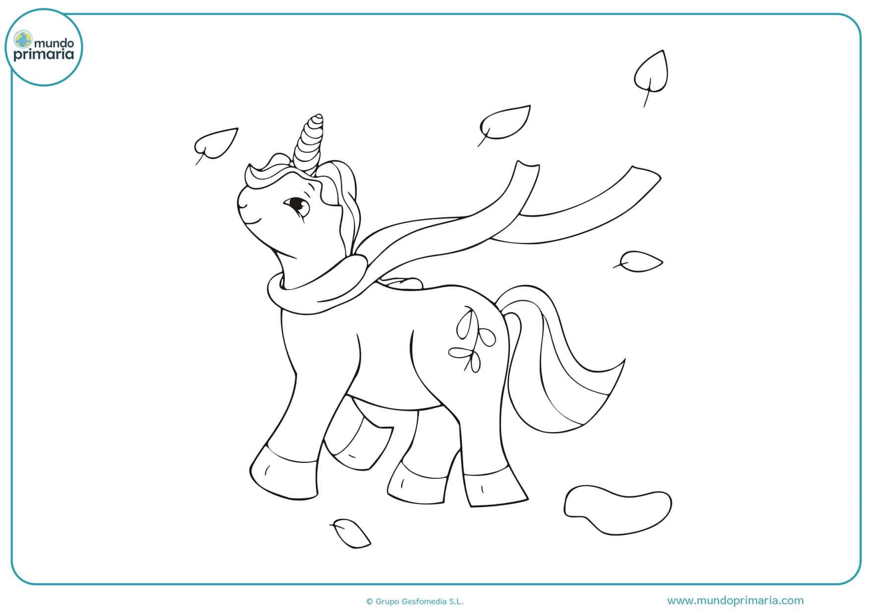 dibujos de para colorear de unicornios gratis