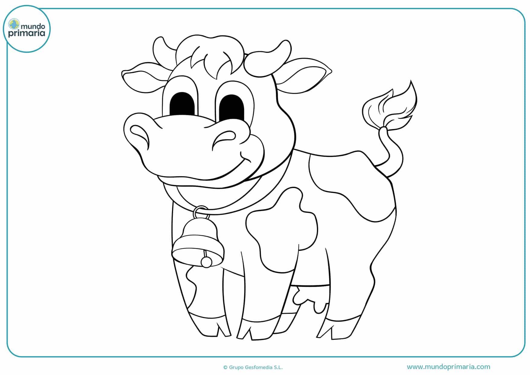 Dibujos De Vacas Para Colorear Imprimir Y Pintar