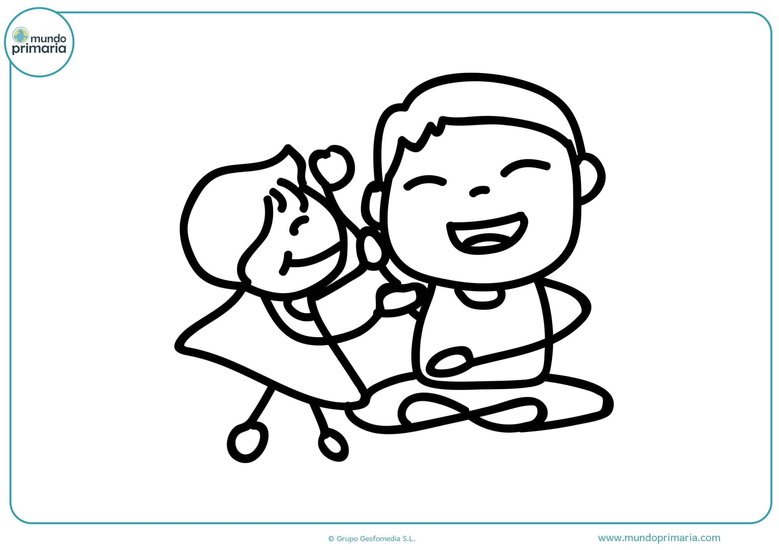 dibujos para imprimir y colorear día del padre