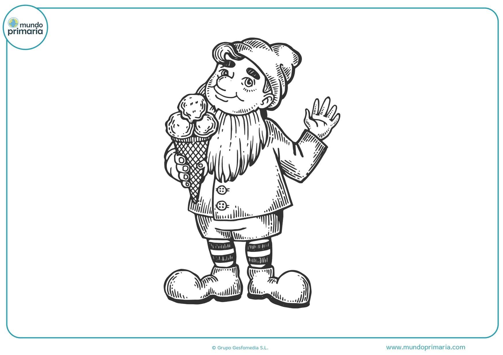 dibujos para imprimir de duendes pequeños