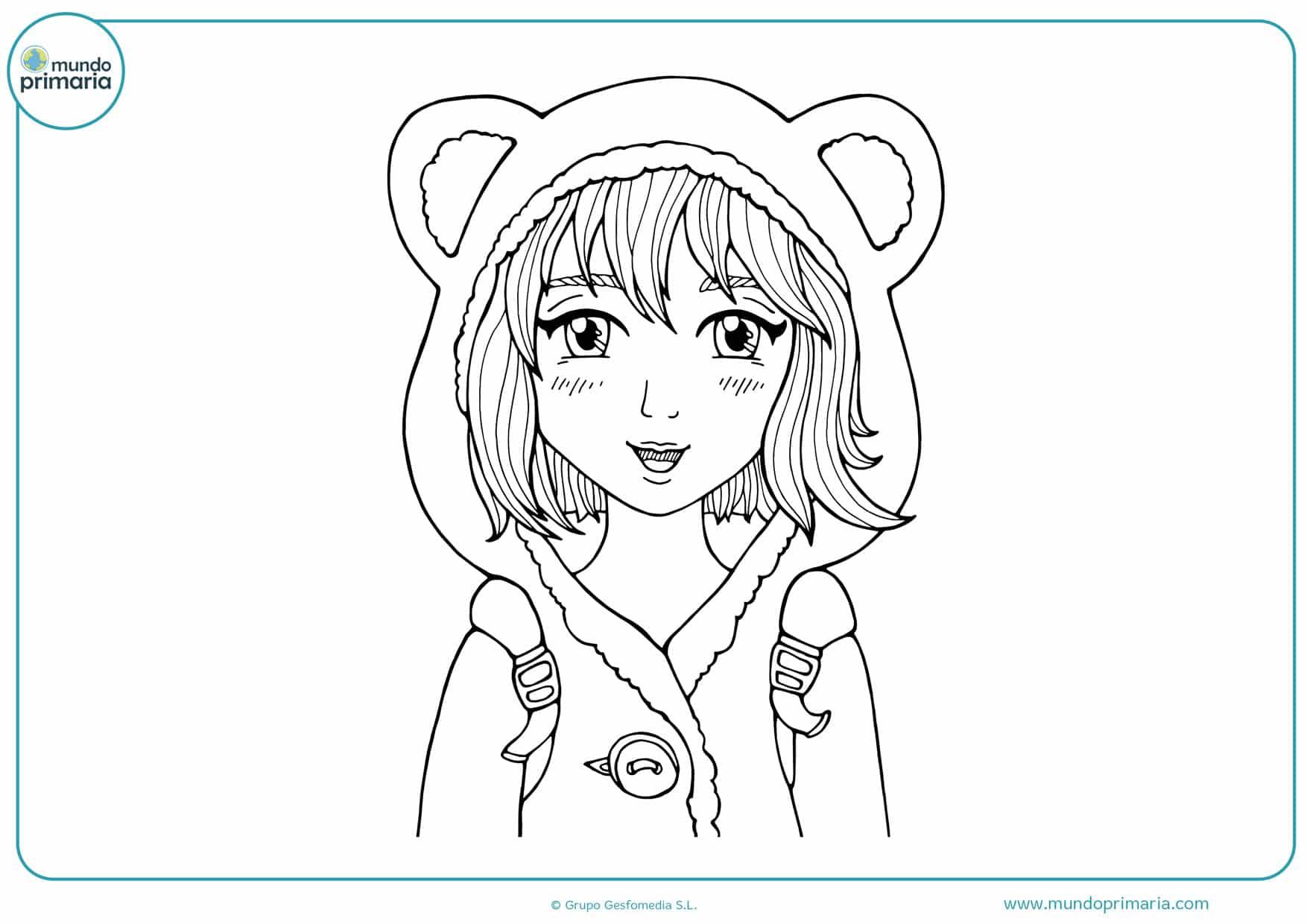 dibujos para imprimir de manga