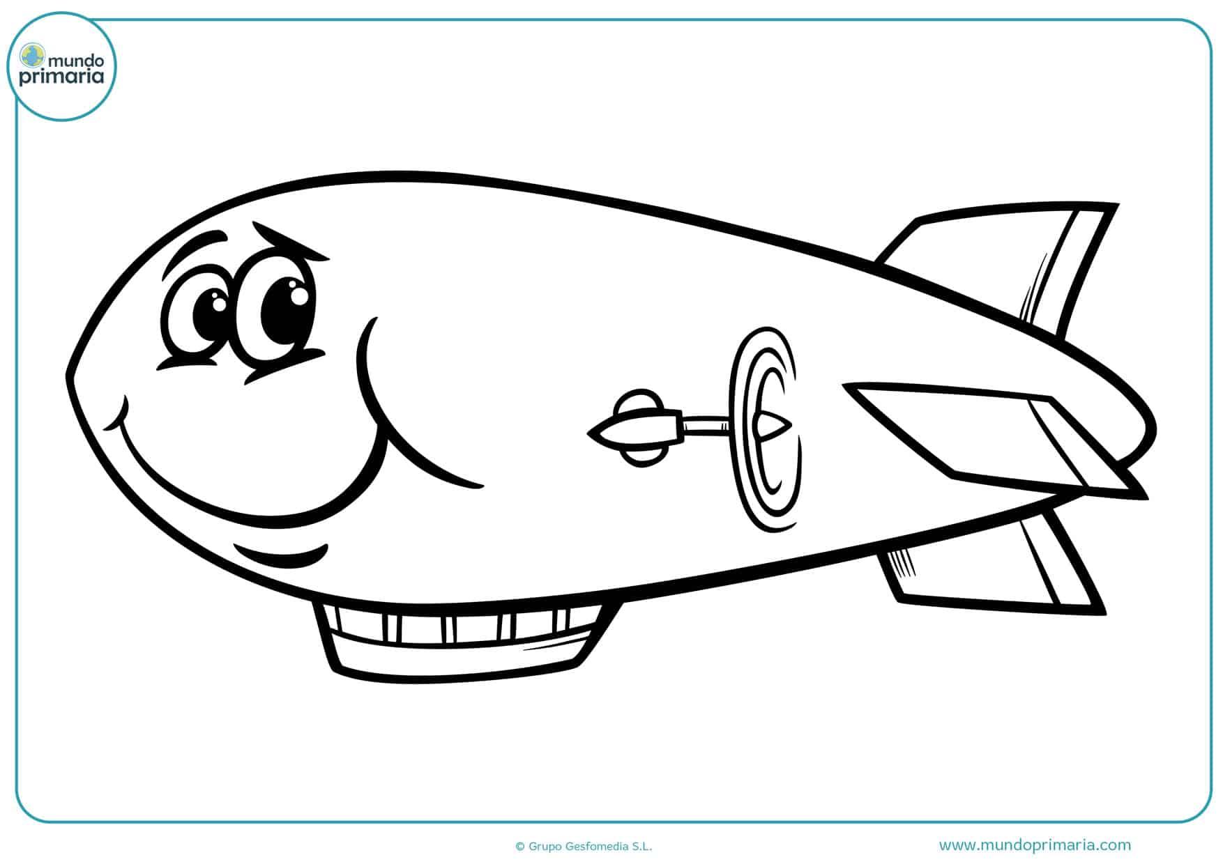 dibujos de la película aviones para colorear
