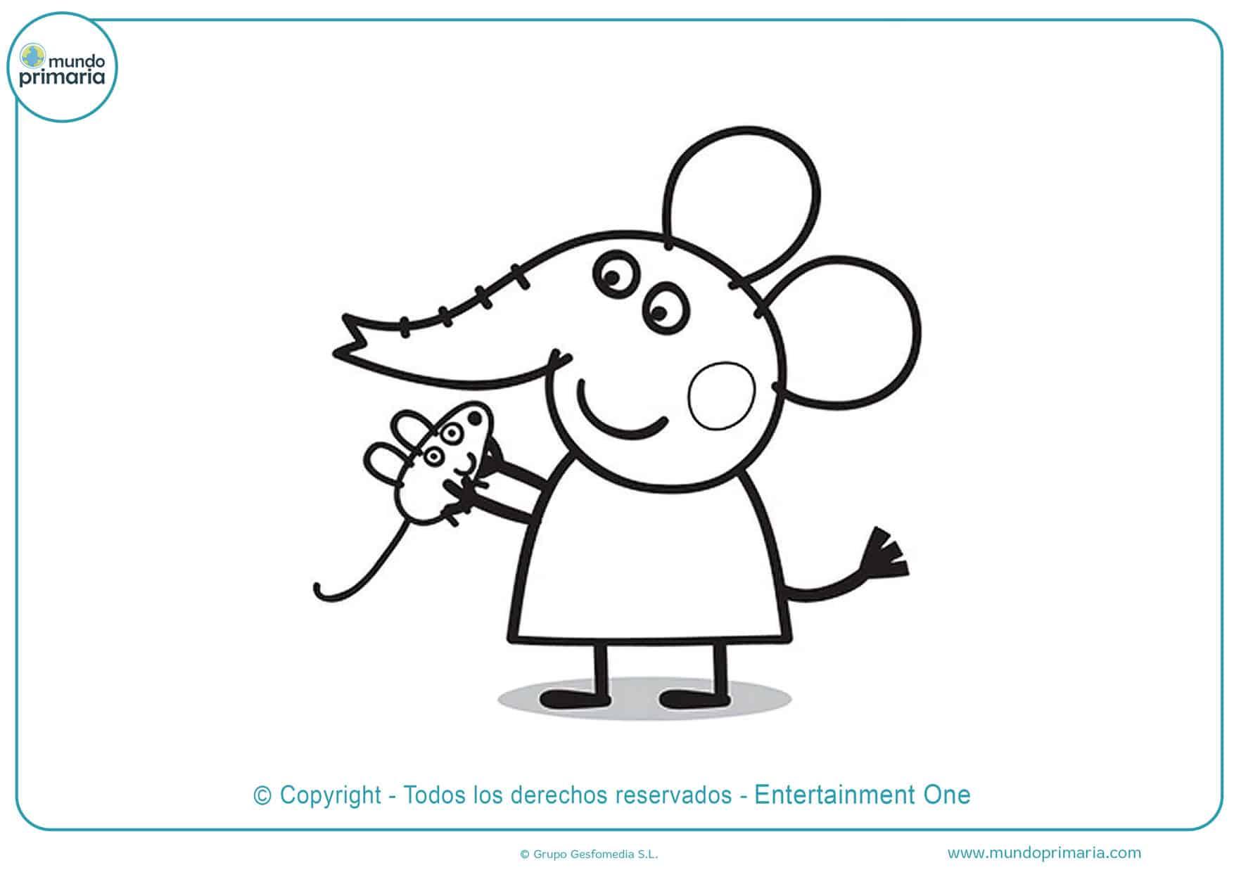 Dibujos De Peppa Pig Para Colorear Descarga Gratis