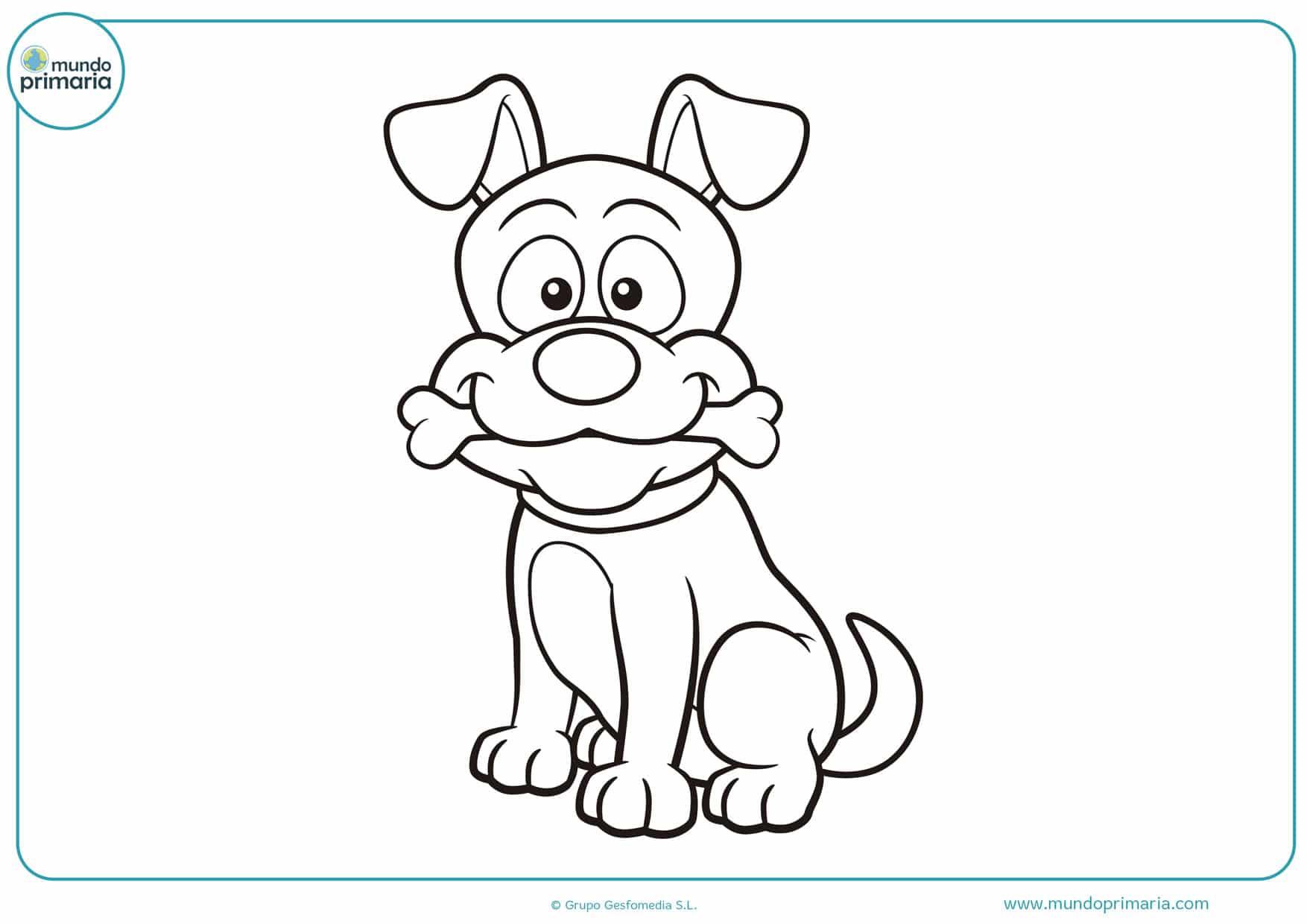 dibujos de perros boxer para colorear