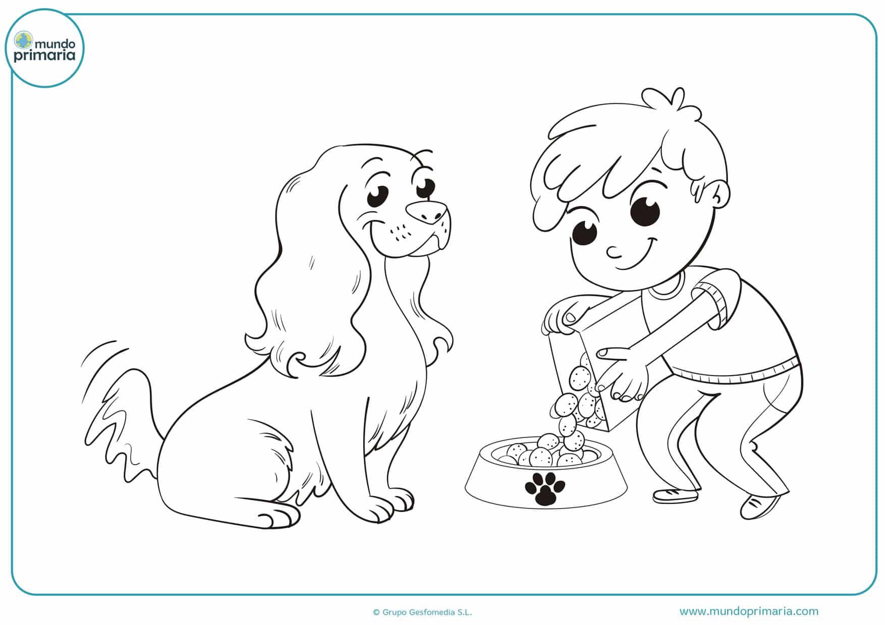 dibujos de perros para colorear e imprimir