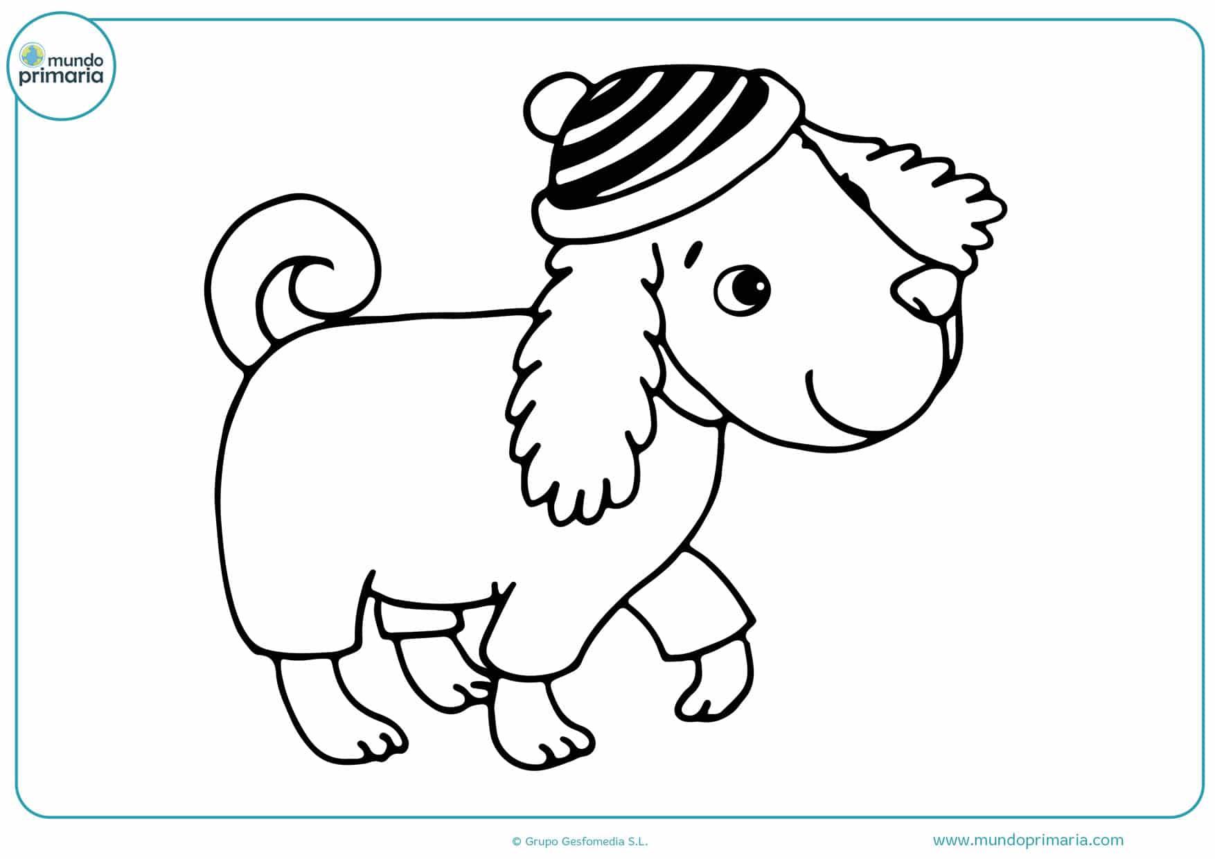 dibujos de perros de raza para colorear