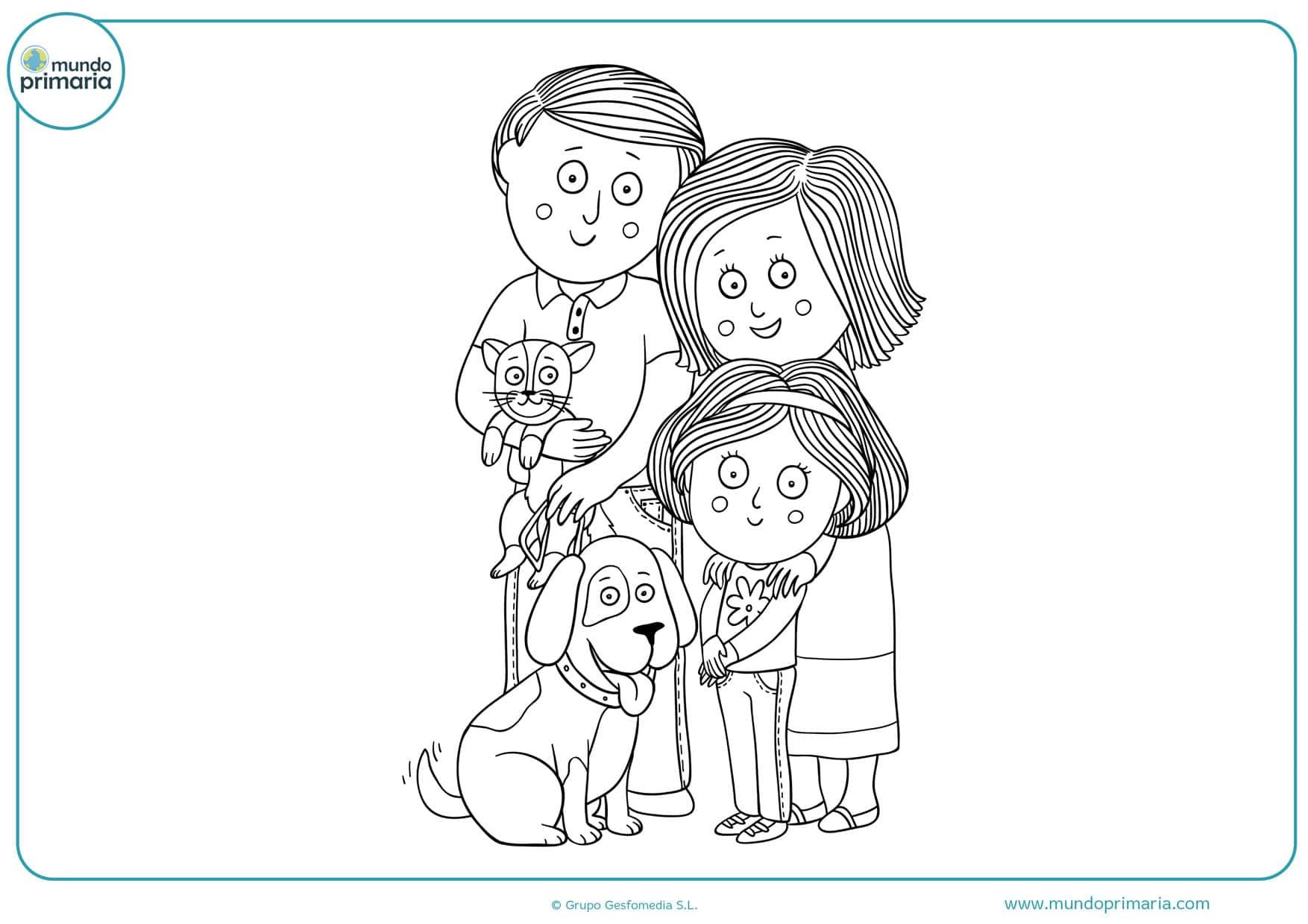Dibujos De Personas Para Colorear Fáciles De Imprimir