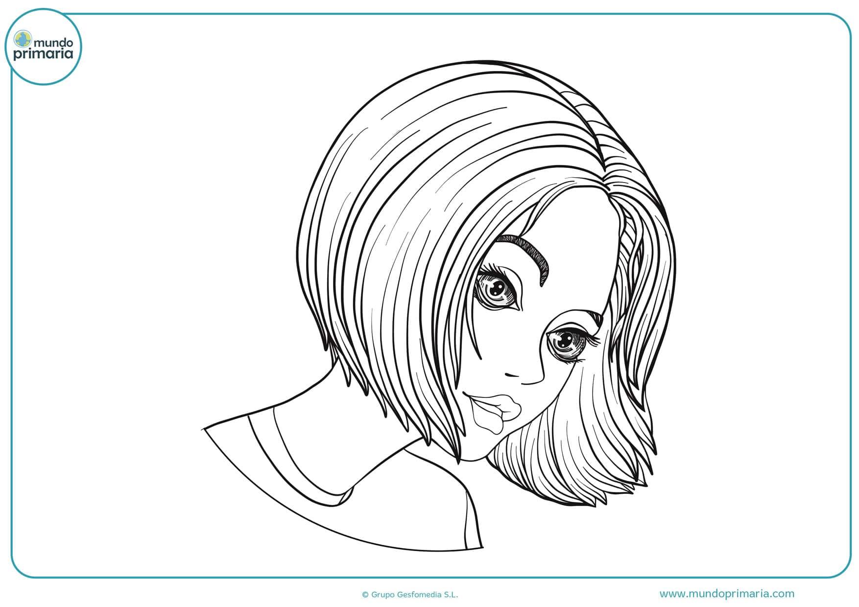 dibujos de personas animadas para colorear